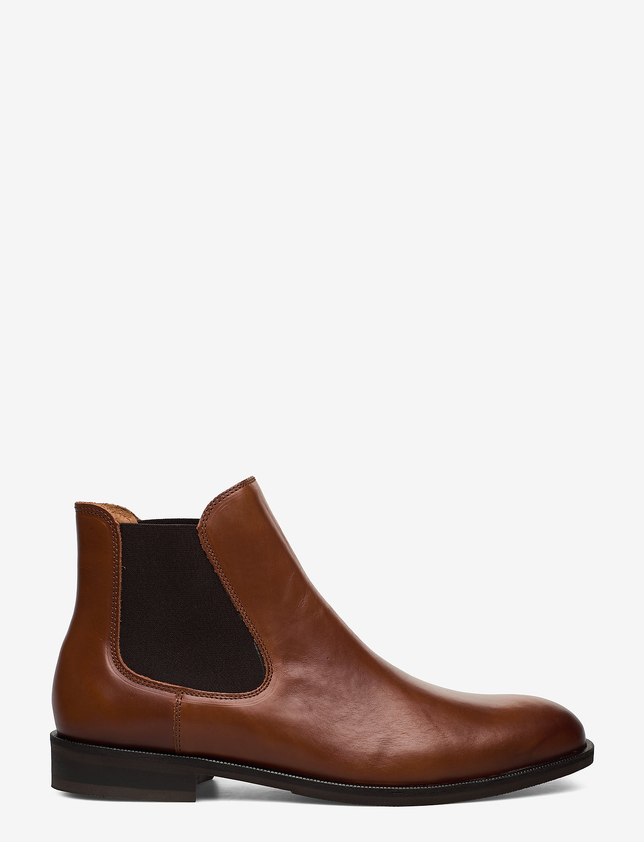 Selected Homme - SLHLOUIS LEATHER CHELSEA BOOT B NOOS - chelsea boots - cognac - 1