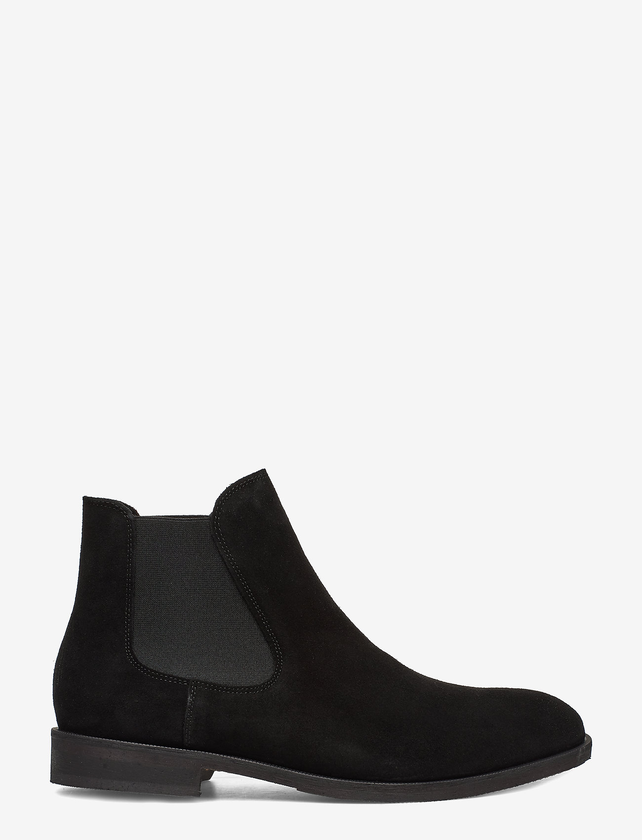 Selected Homme - SLHLOUIS SUEDE CHELSEA BOOT B NOOS - chelsea boots - black - 1