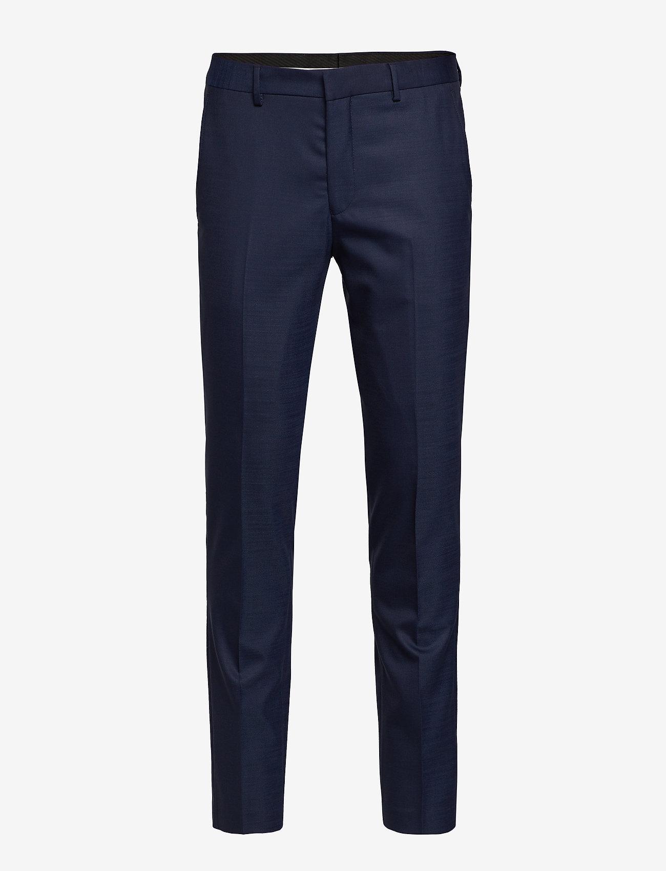 Selected Homme - SLHSLIM-MYLOSTATE FLEX DK BL TRS B NOOS - suitbukser - dark blue - 0