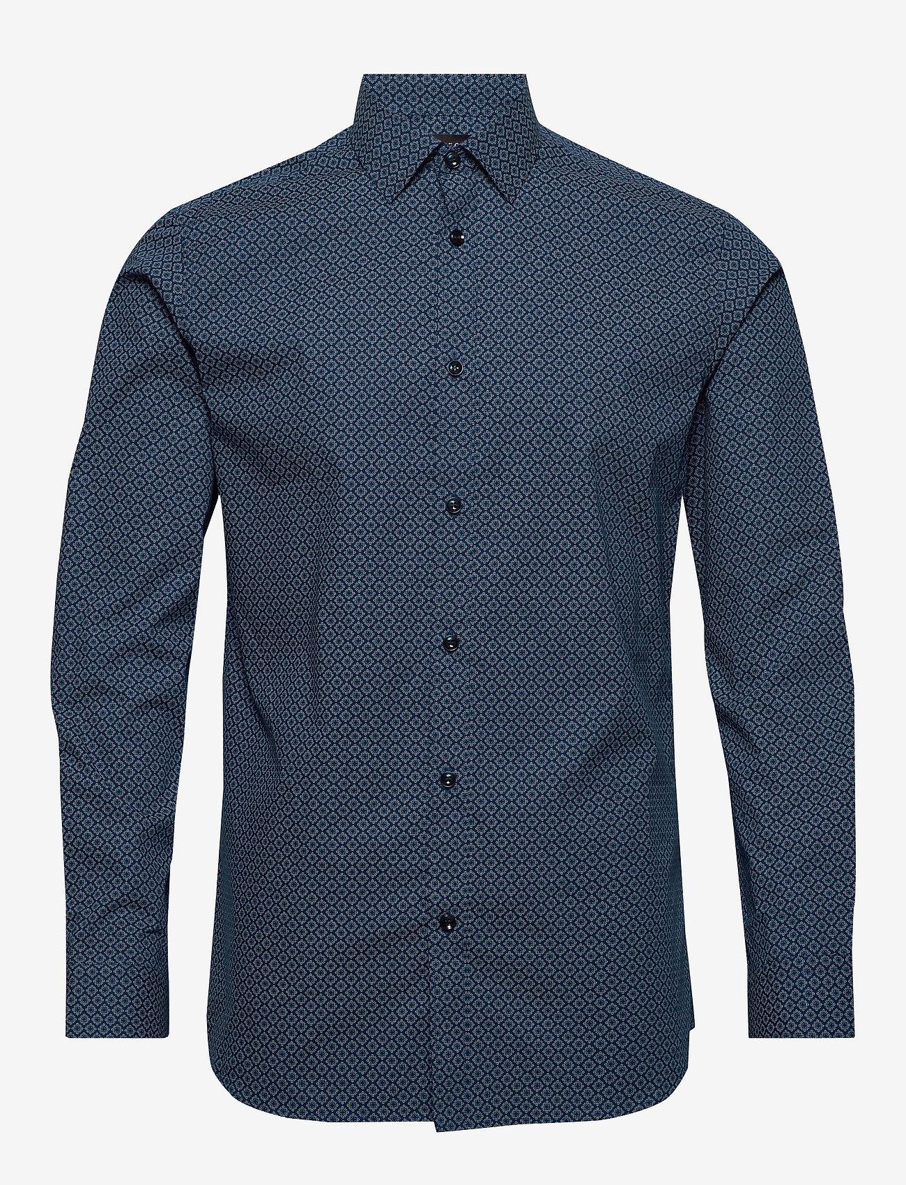 Selected Homme - SLHREGPEN-HARPER SHIRT LS B NOOS - chemises business - dark navy