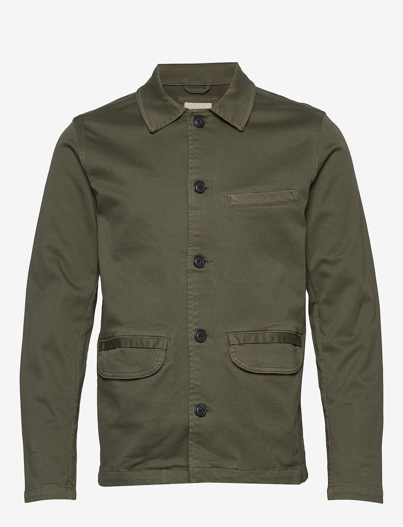 Selected Homme - SLHJAKE JACKET W - basic skjorter - beetle - 0