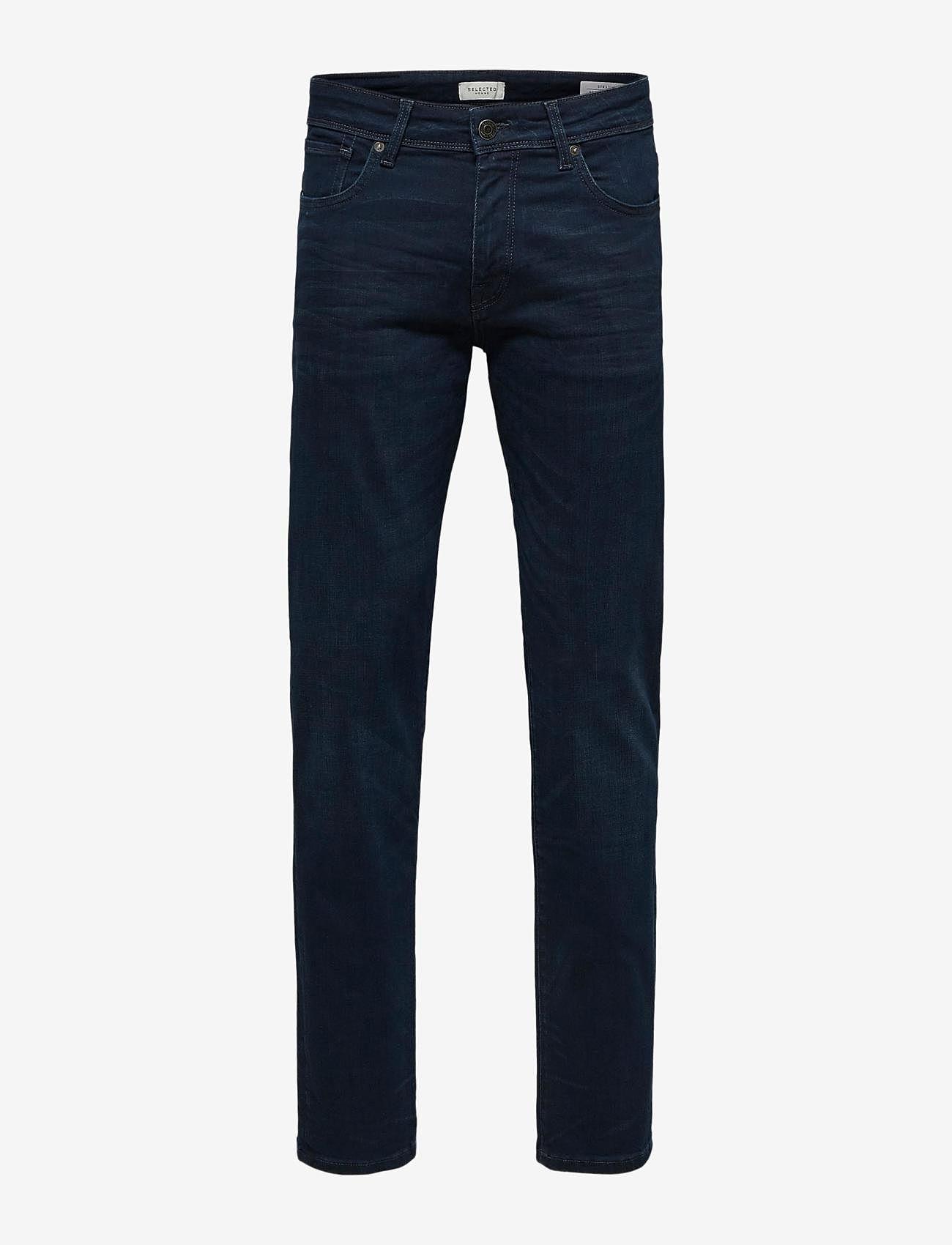 Selected Homme - SLHSTRAIGHT-SCOTT 6155 BB SU-ST JNS - regular jeans - blue black denim - 0