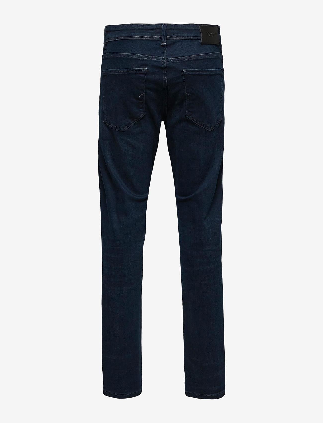 Selected Homme - SLHSTRAIGHT-SCOTT 6155 BB SU-ST JNS - regular jeans - blue black denim - 1