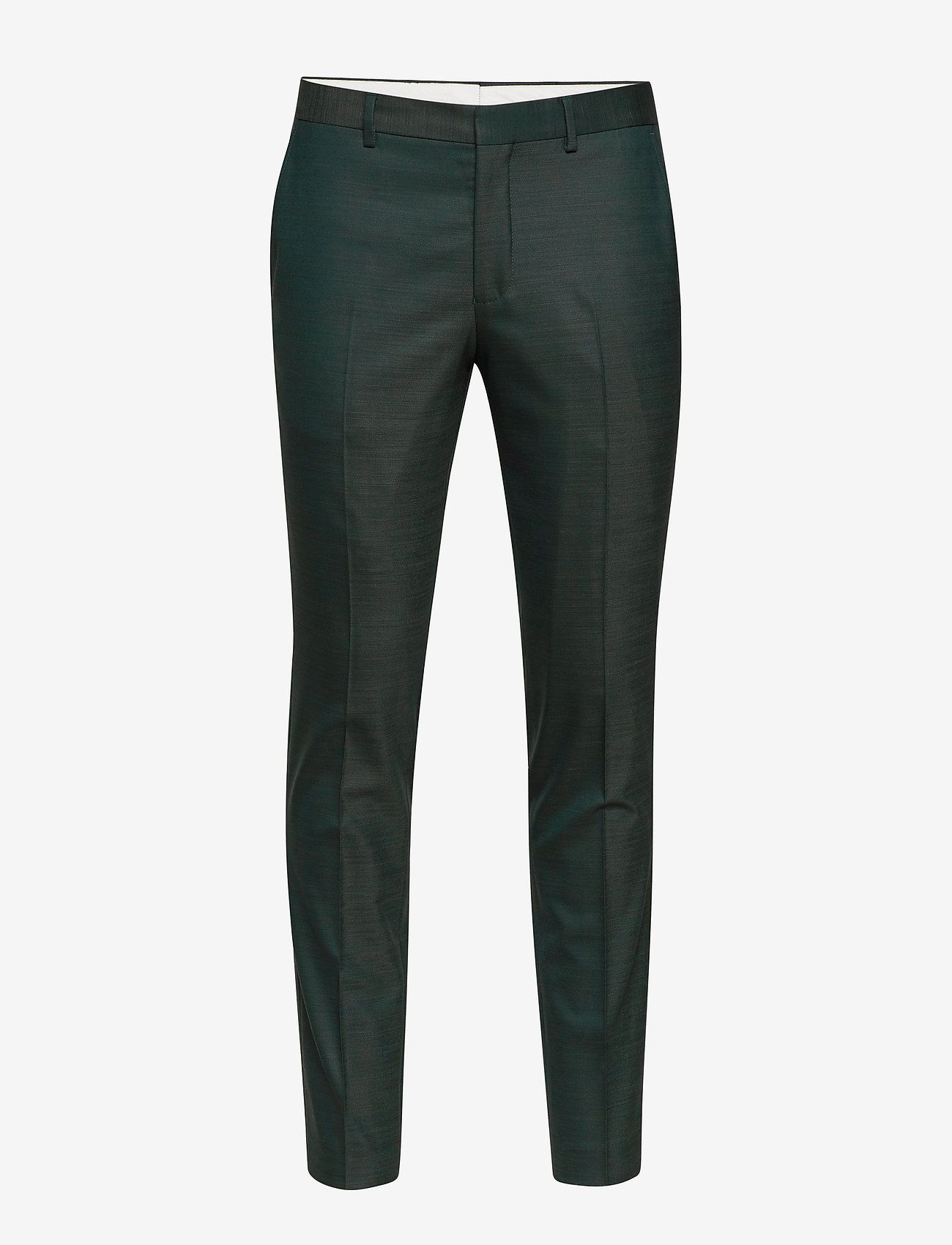 Selected Homme - SLHSLIM-MYLOSTATE FLEX GREEN TRS B - formele broeken - dark green - 0