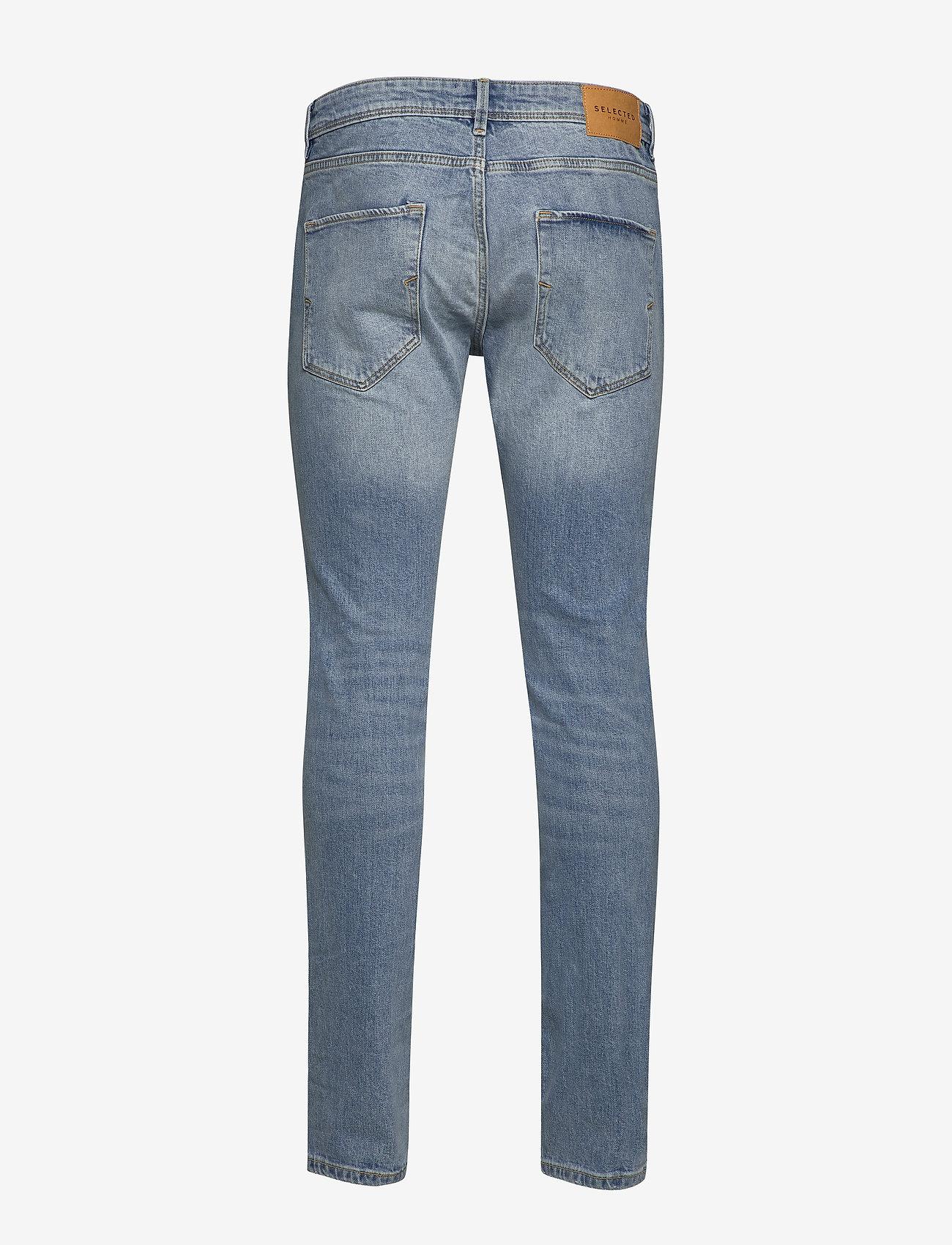 Selected Homme - SLHSLIM-LEON 3020 L.BLUE ST JEANS W NOOS - slim jeans - light blue denim - 1