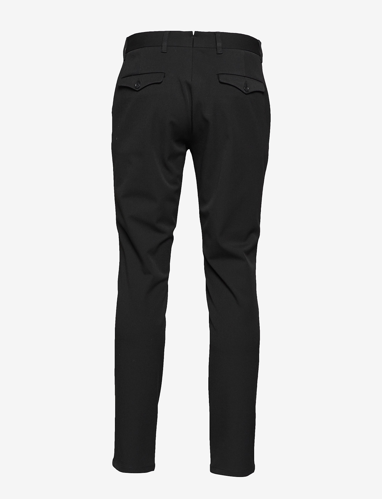 Selected Homme - SLHSLIM-CARLO FLEX PANTS B NOOS - suitbukser - black - 1
