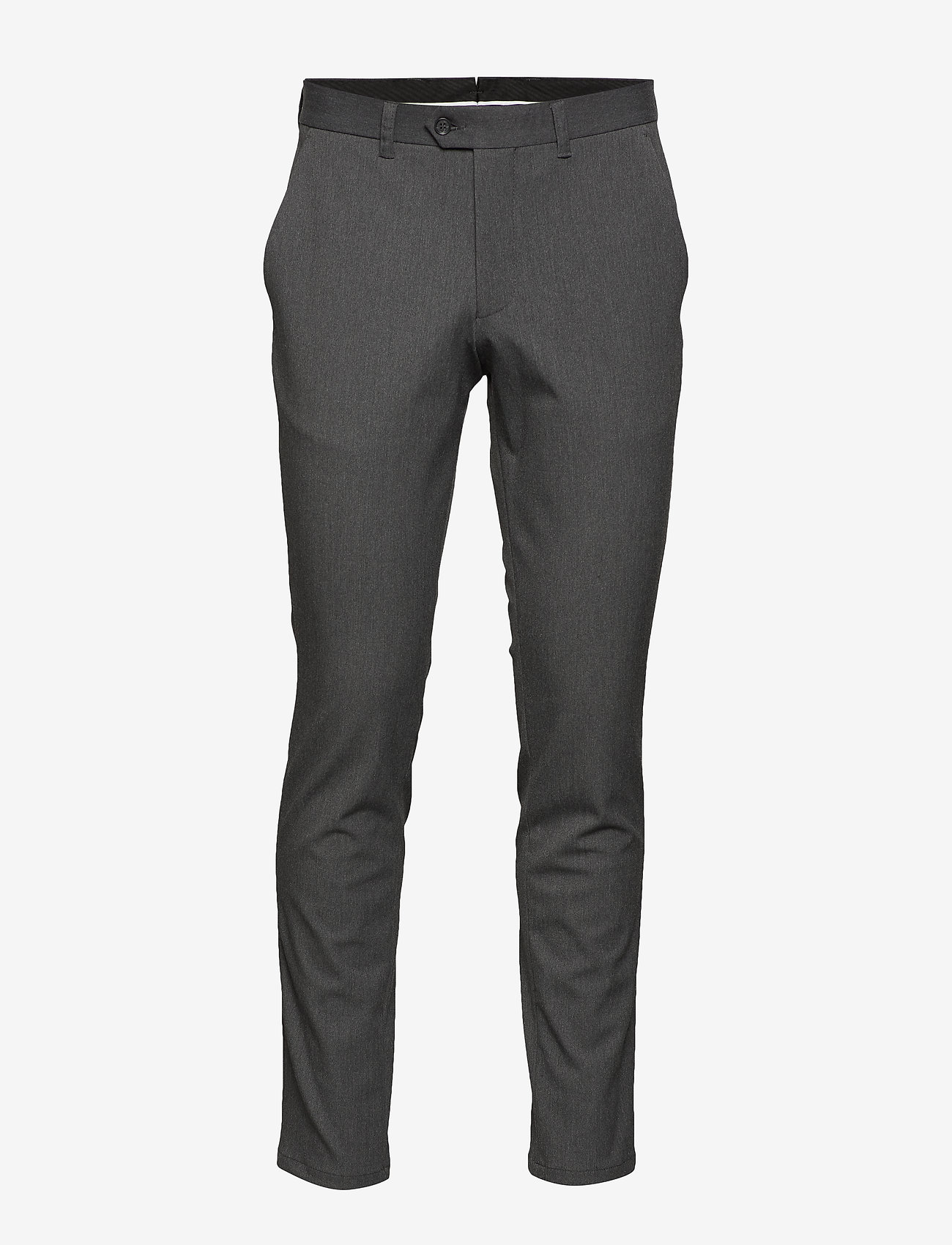 Selected Homme - SLHSLIM-CARLO FLEX PANTS B NOOS - suitbukser - grey melange - 0