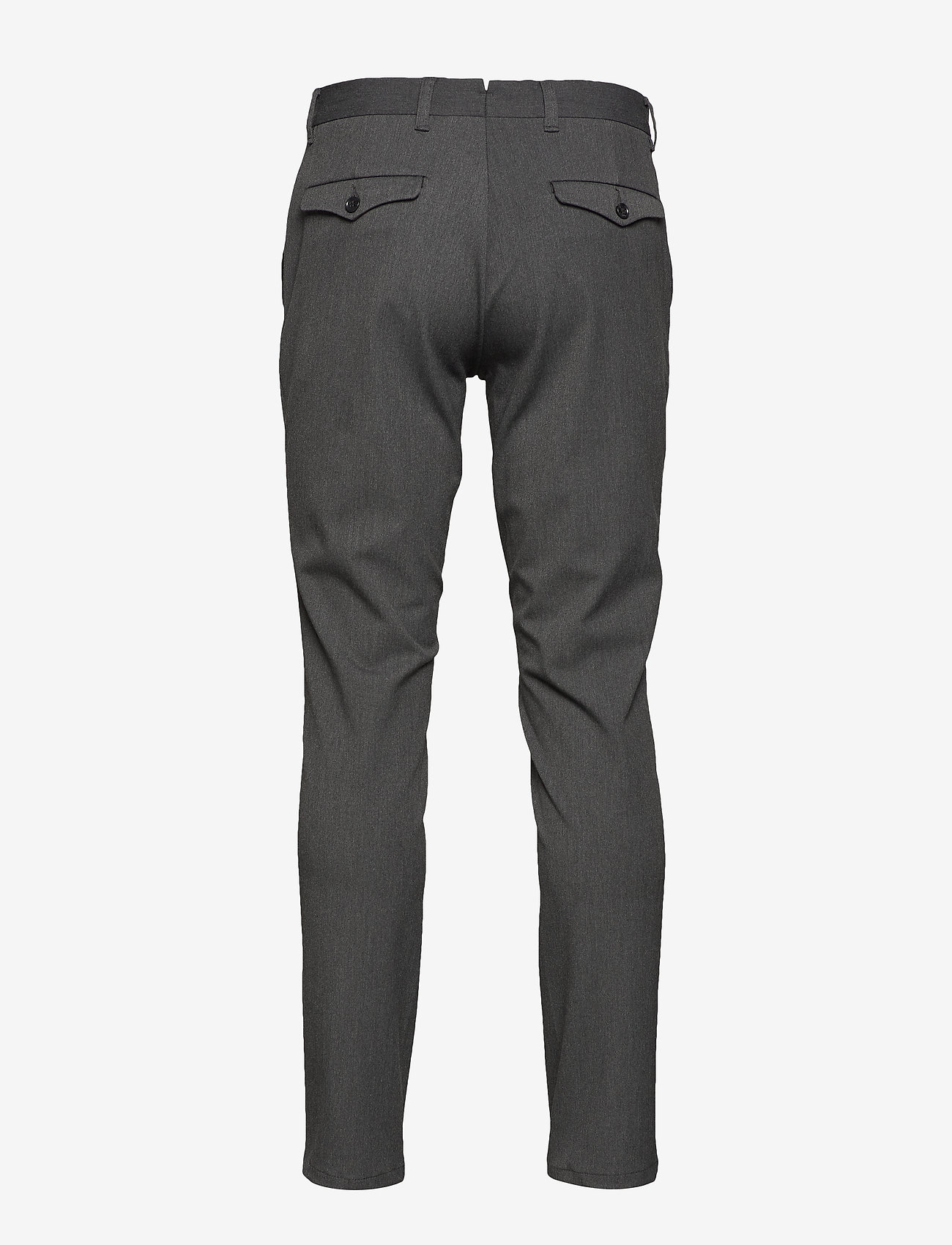 Selected Homme - SLHSLIM-CARLO FLEX PANTS B NOOS - suitbukser - grey melange - 1