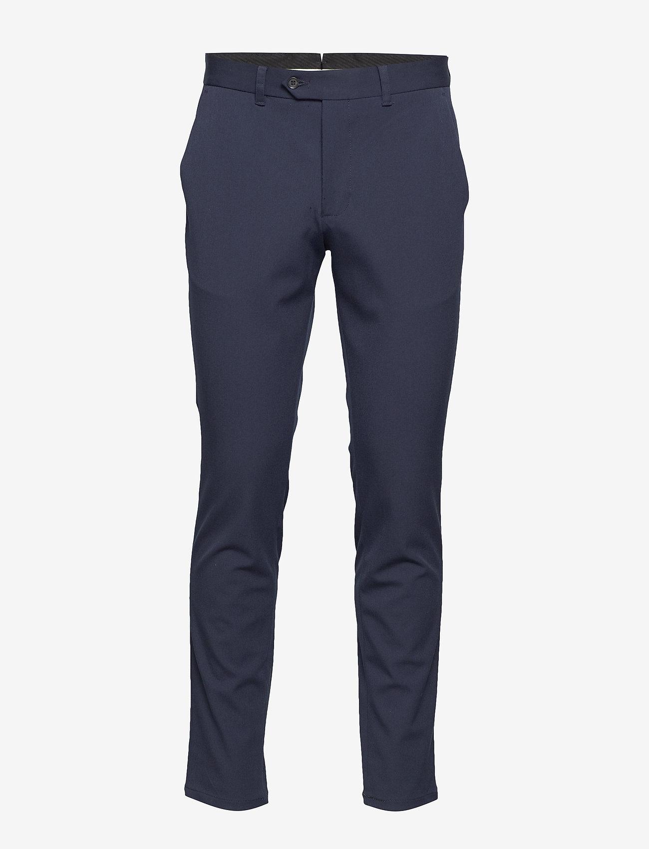 Selected Homme - SLHSLIM-CARLO FLEX PANTS B NOOS - suitbukser - navy blazer - 0