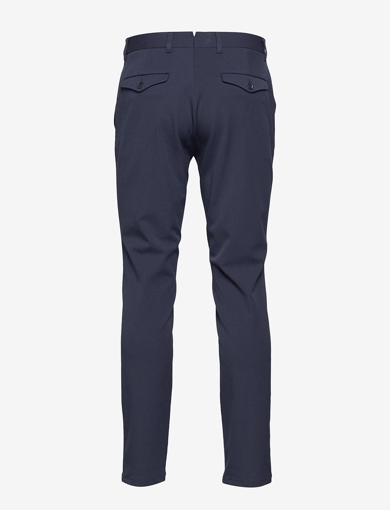 Selected Homme - SLHSLIM-CARLO FLEX PANTS B NOOS - suitbukser - navy blazer - 1