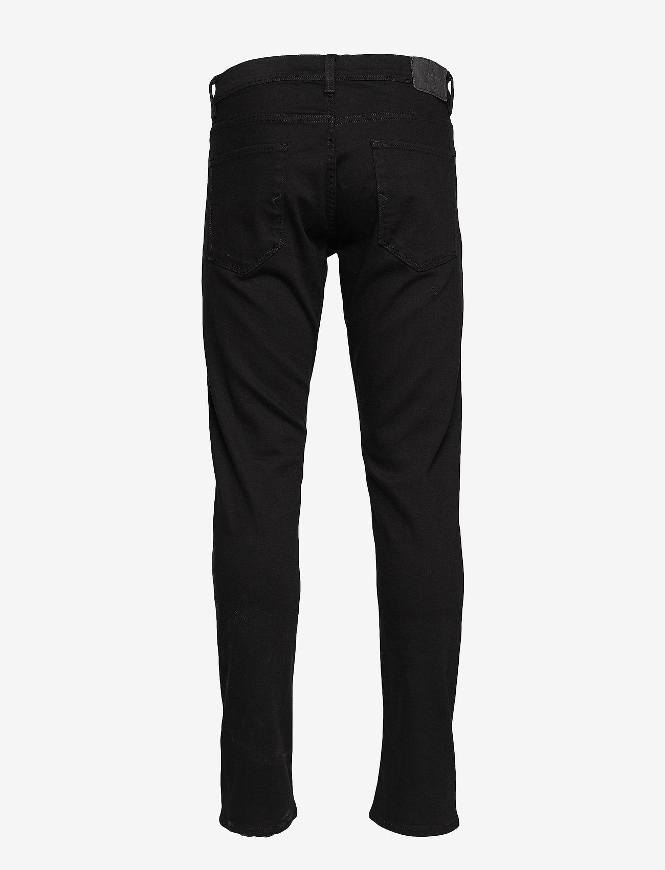 Selected Homme - SLHSLIMTAPE-TOBY 1001 BLCK ST JNS W - slim jeans - black denim
