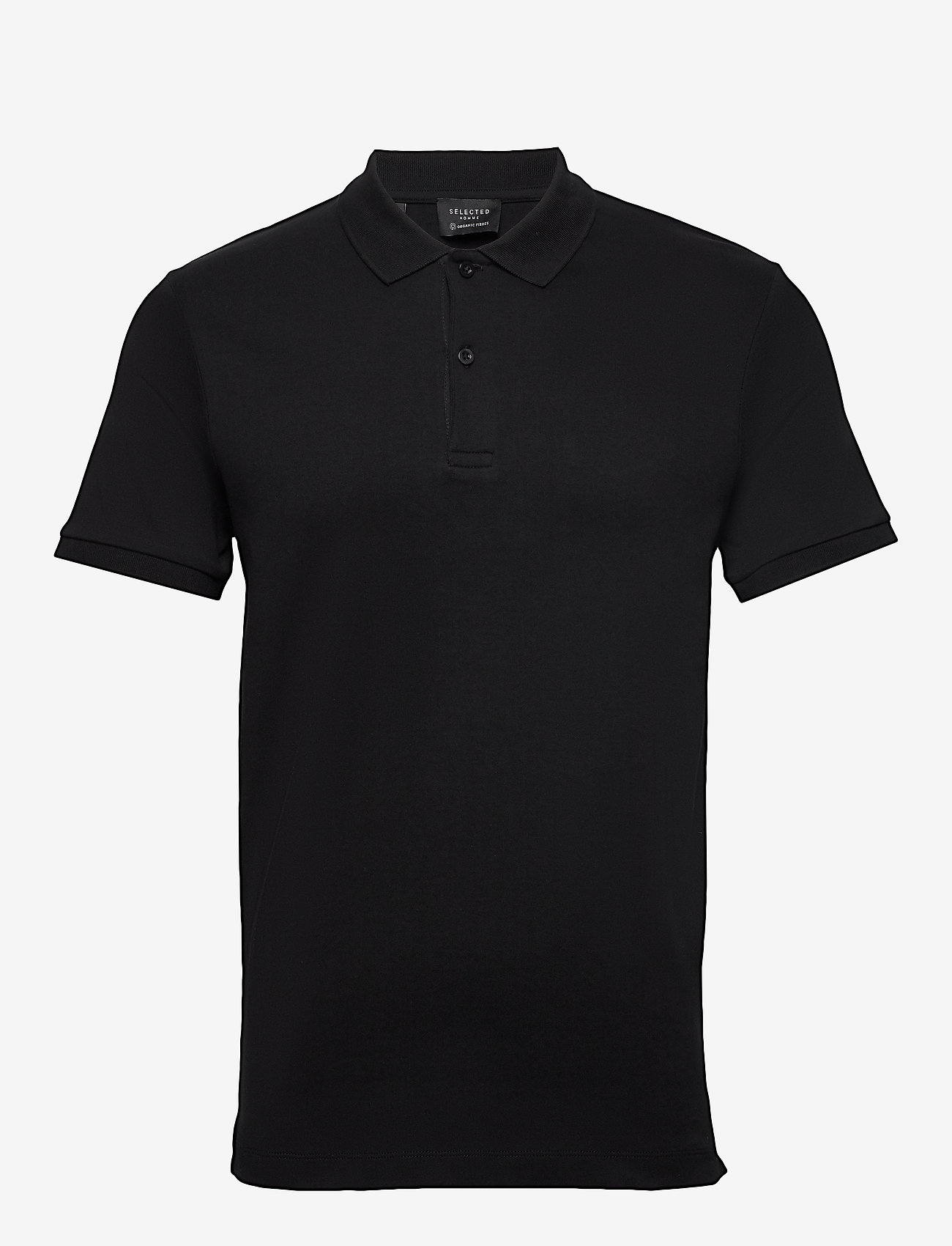Selected Homme - SLHPARIS SS POLO B NOOS - kurzärmelig - black - 0