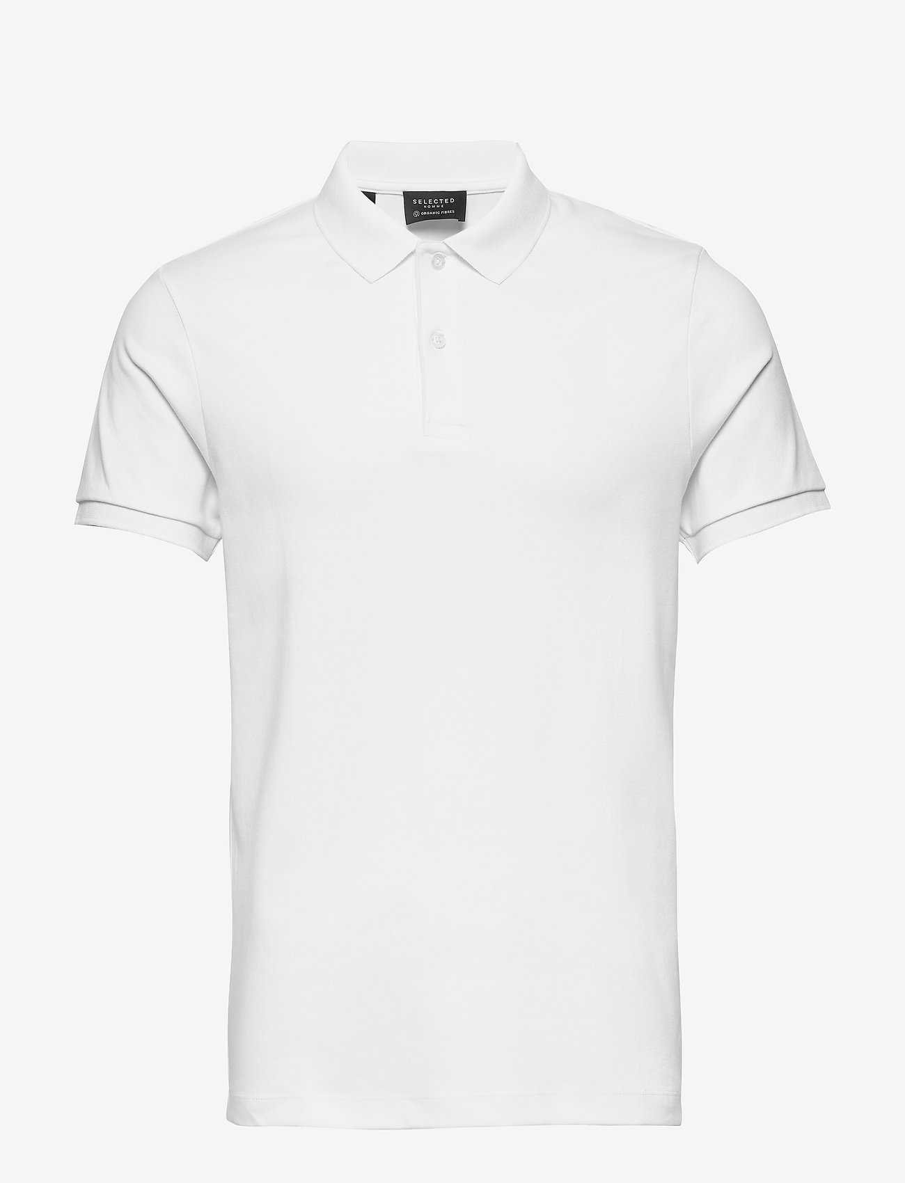 Selected Homme - SLHPARIS SS POLO B NOOS - kortærmede - bright white - 0
