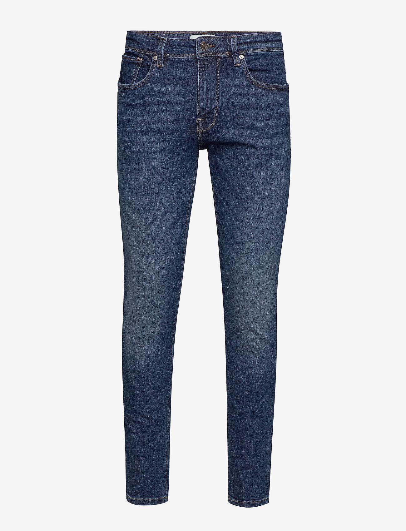 Selected Homme - SLHSLIM-LEON 6212 MB SUPER ST JNS J NOOS - slim jeans - medium blue denim - 0