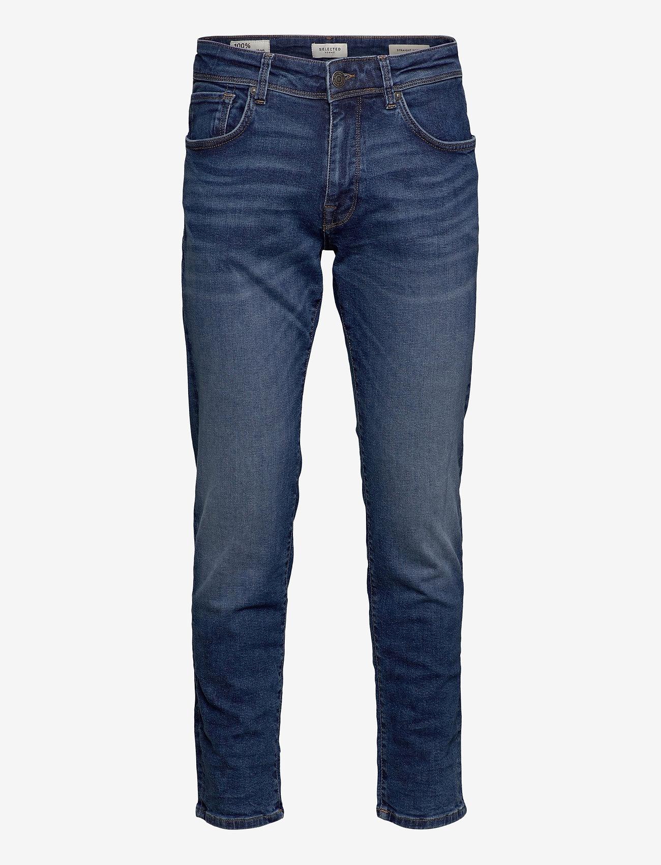 Selected Homme - SLHSTRAIGHT-SCOTT 6212 MB SU-ST JNS - regular jeans - medium blue denim - 0