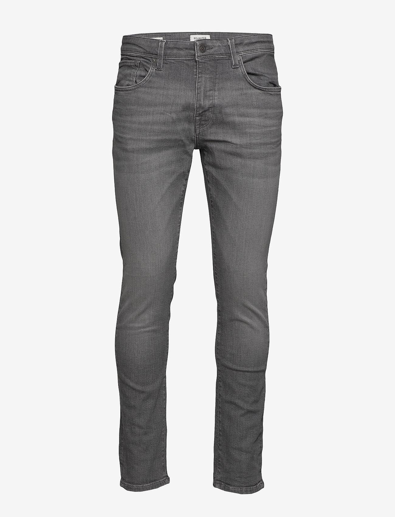 Selected Homme - SLHSLIM-LEON 6213 MGR SU-ST JEANS W NOOS - slim jeans - grey denim