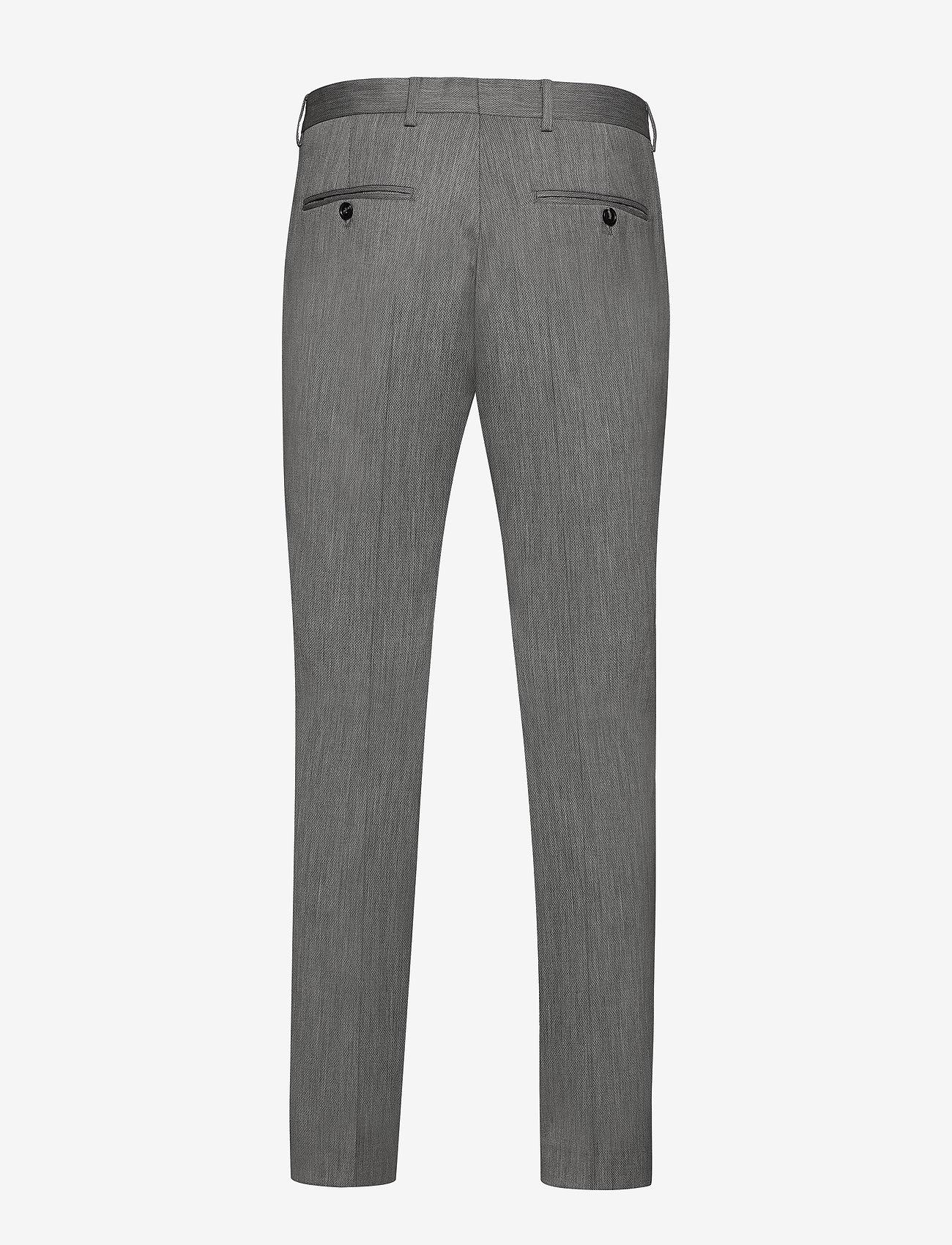 Selected Homme - SLHSLIM-MYLOBILL LT GREY STRC TRS B NOOS - suitbukser - light grey melange - 1