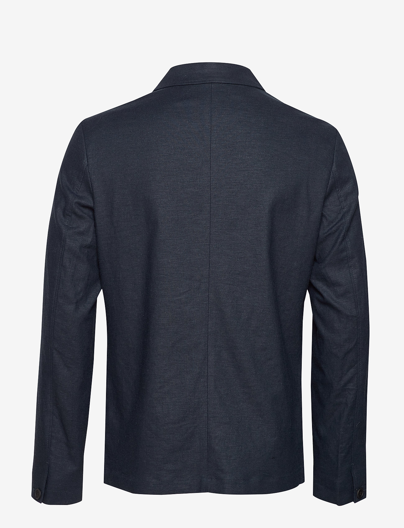 Selected Homme - SLHREG-DAVE LINEN HYBRID BLZ B - single breasted blazers - sky captain