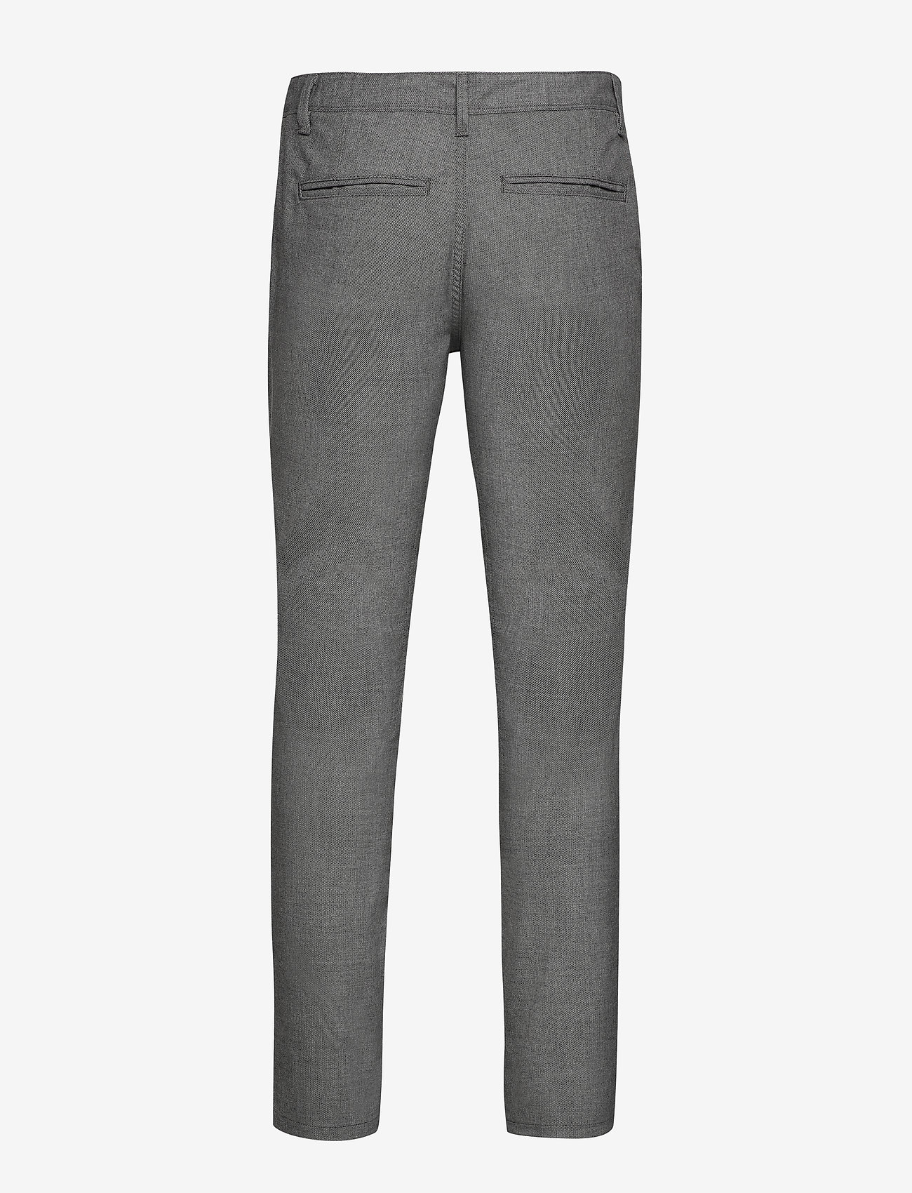 Selected Homme - SLHSLIM-STORM FLEX SMART PANTS W - pantalons habillés - grey