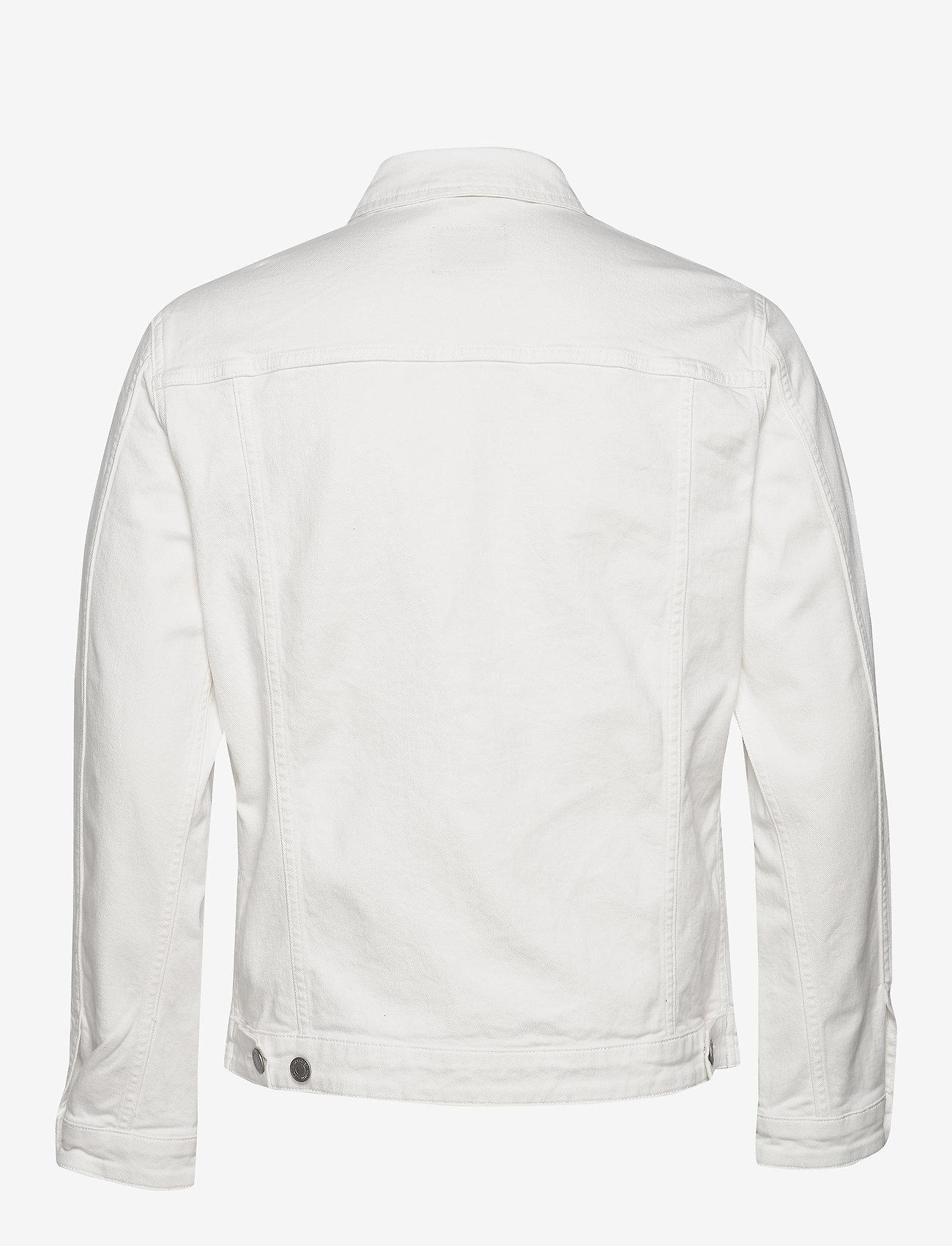 Selected Homme - SLHJEPPE 6221 OP WHITE ST DENIM JACKET W - denim jackets - white denim