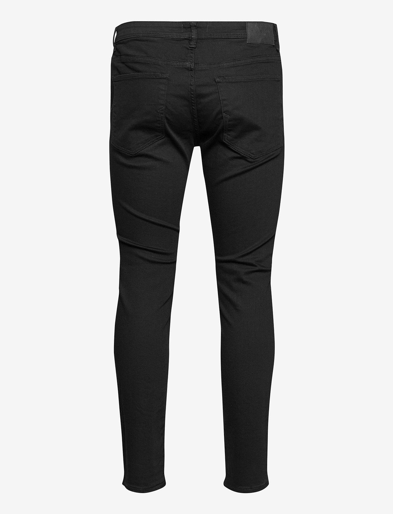 Selected Homme - SLHSLIM-LEON 3031 B SUPER ST JNS J - slim jeans - black denim - 1