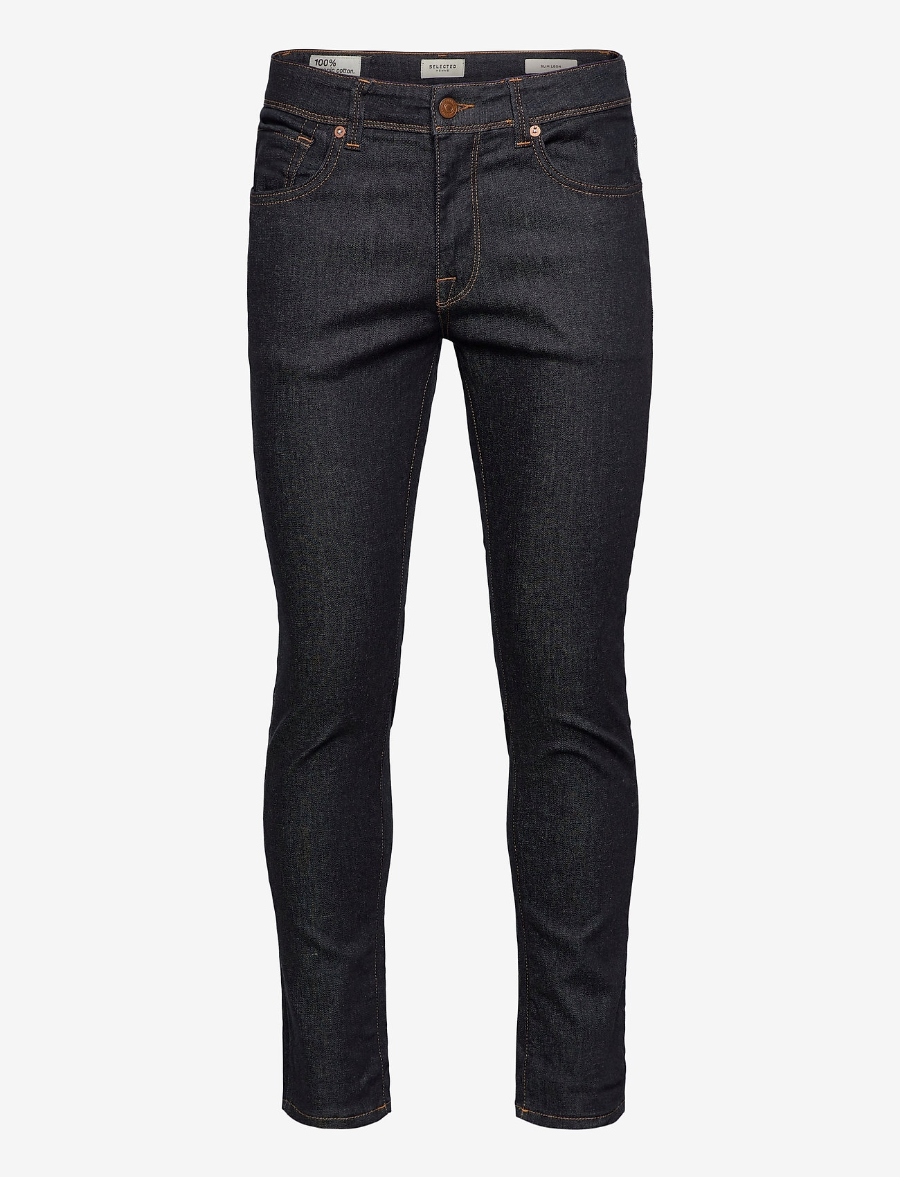 Selected Homme - SLHSLIM-LEON 6234 DB SUPER ST JNS J - slim jeans - dark blue denim - 0