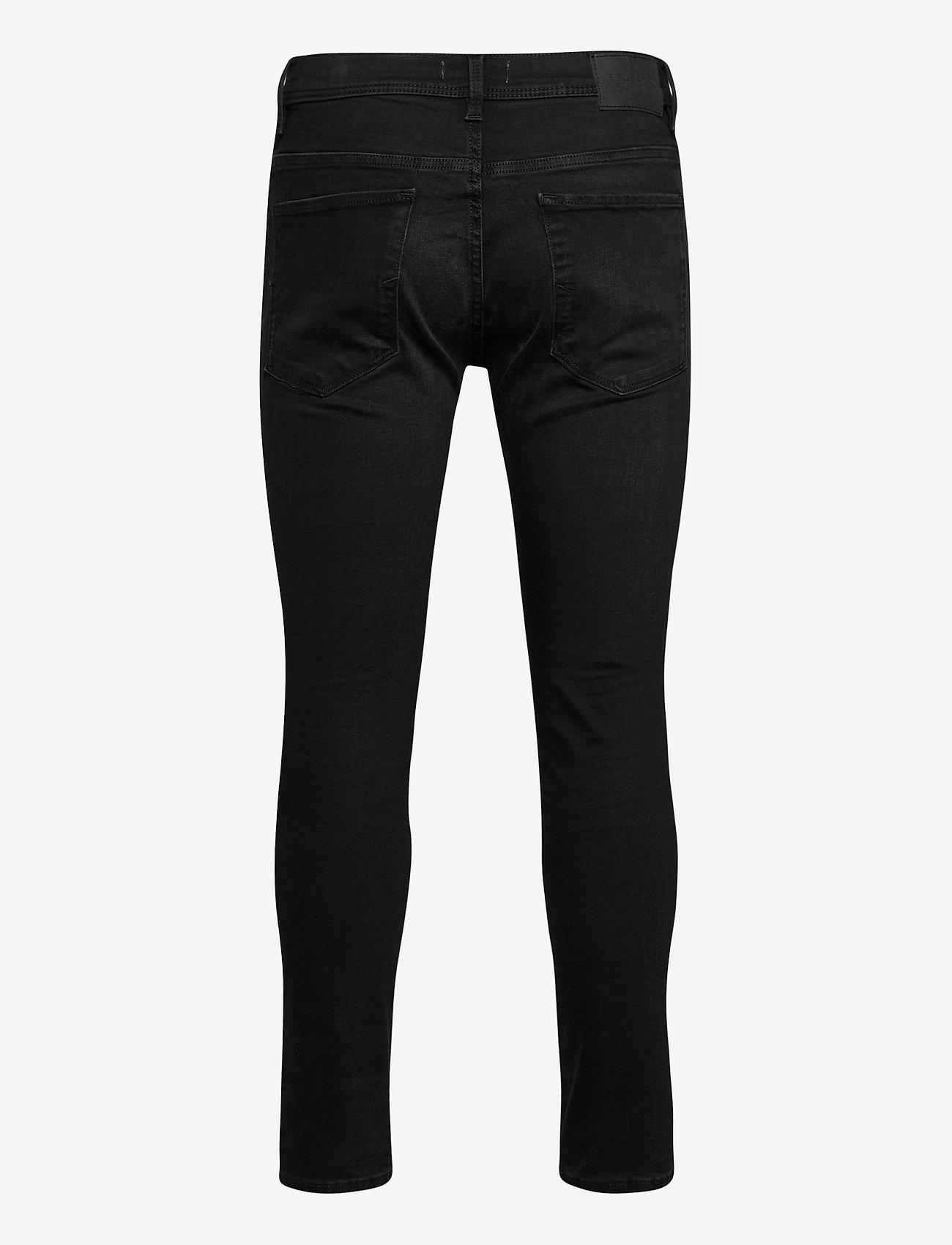 Selected Homme - SLHSLIM-LEON 4003 W. BLACK ST JNS J - slim jeans - black denim - 1