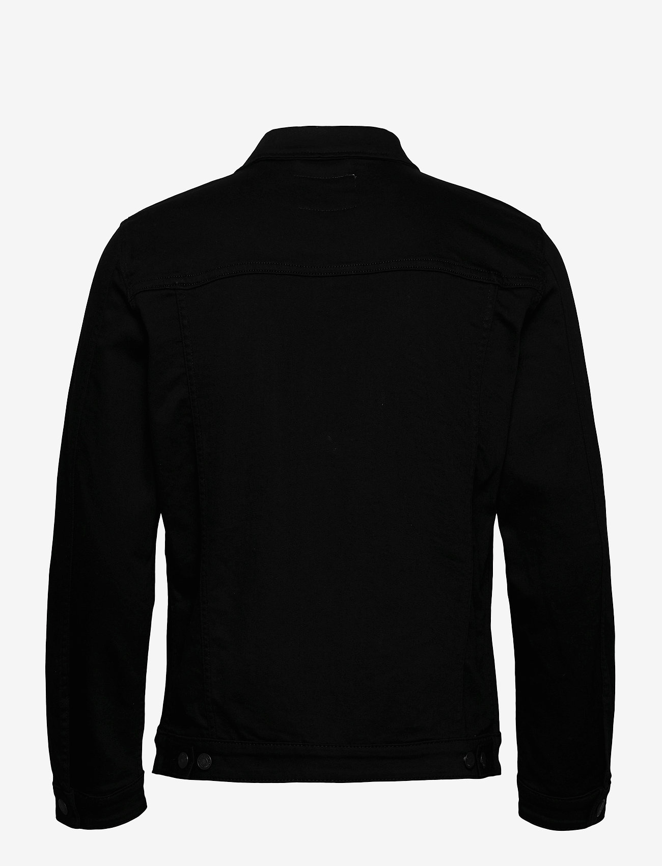 Selected Homme - SLHJEPPE 4001 BLACK DENIM JACKET U - kurtki dżinsowe - black denim - 1