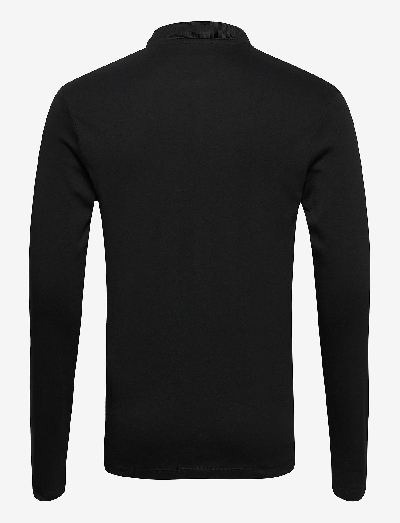 Selected Homme - SLHPARIS LS POLO B NOOS - pitkähihaiset - black - 1