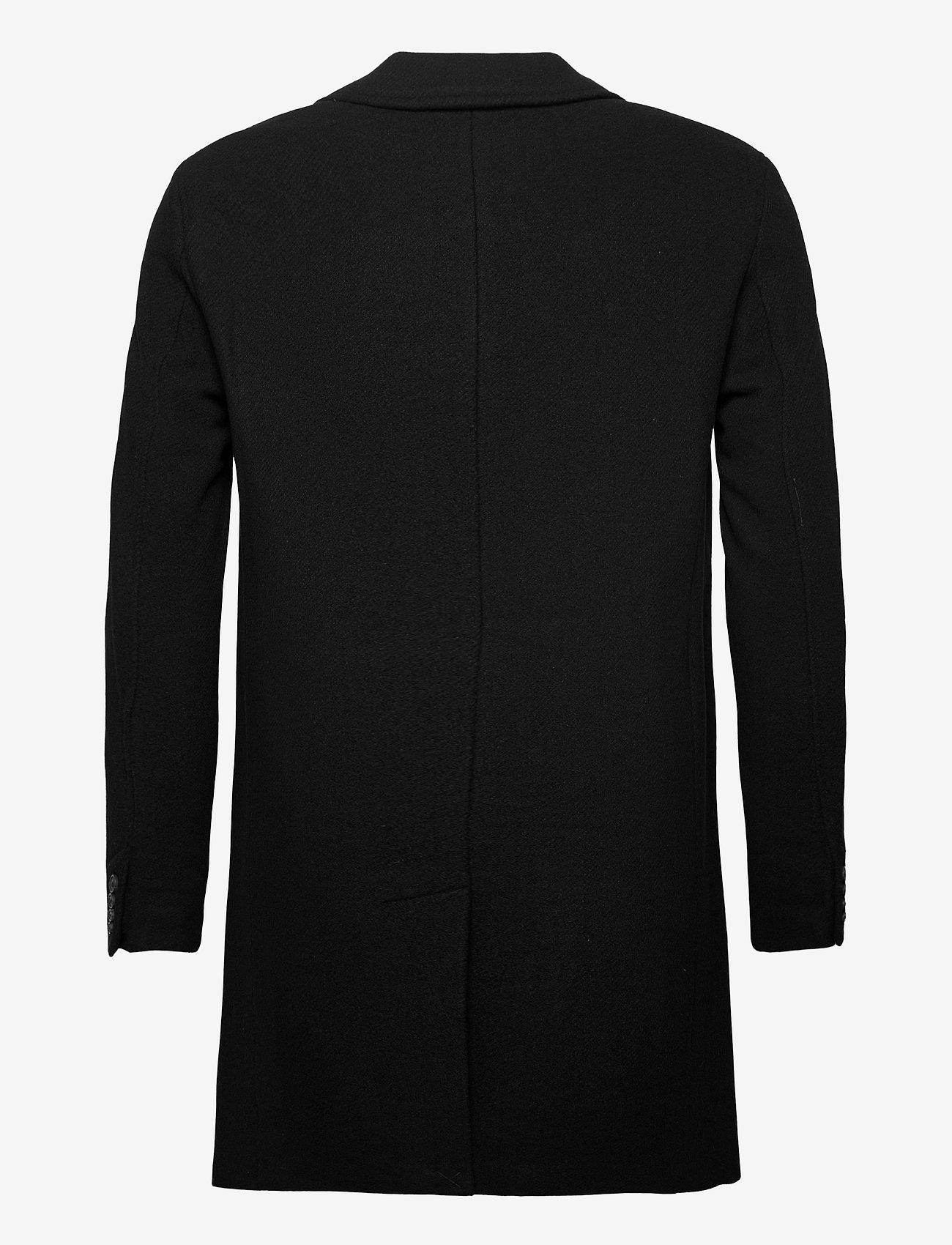 Selected Homme - SLHHAGEN  WOOL COAT B - wollen mantels - black - 1