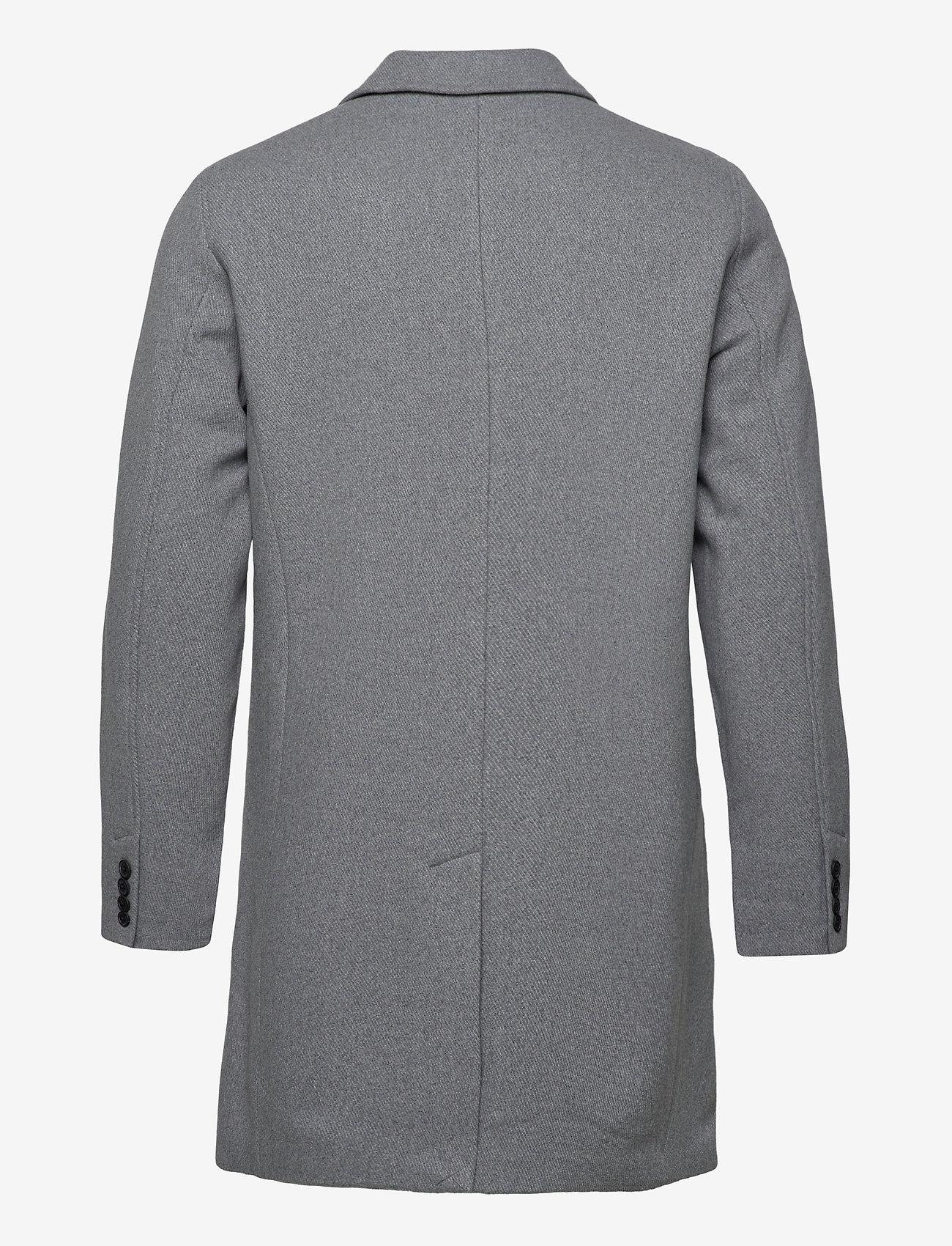 Selected Homme - SLHHAGEN  WOOL COAT B - wollen mantels - grey melange - 1