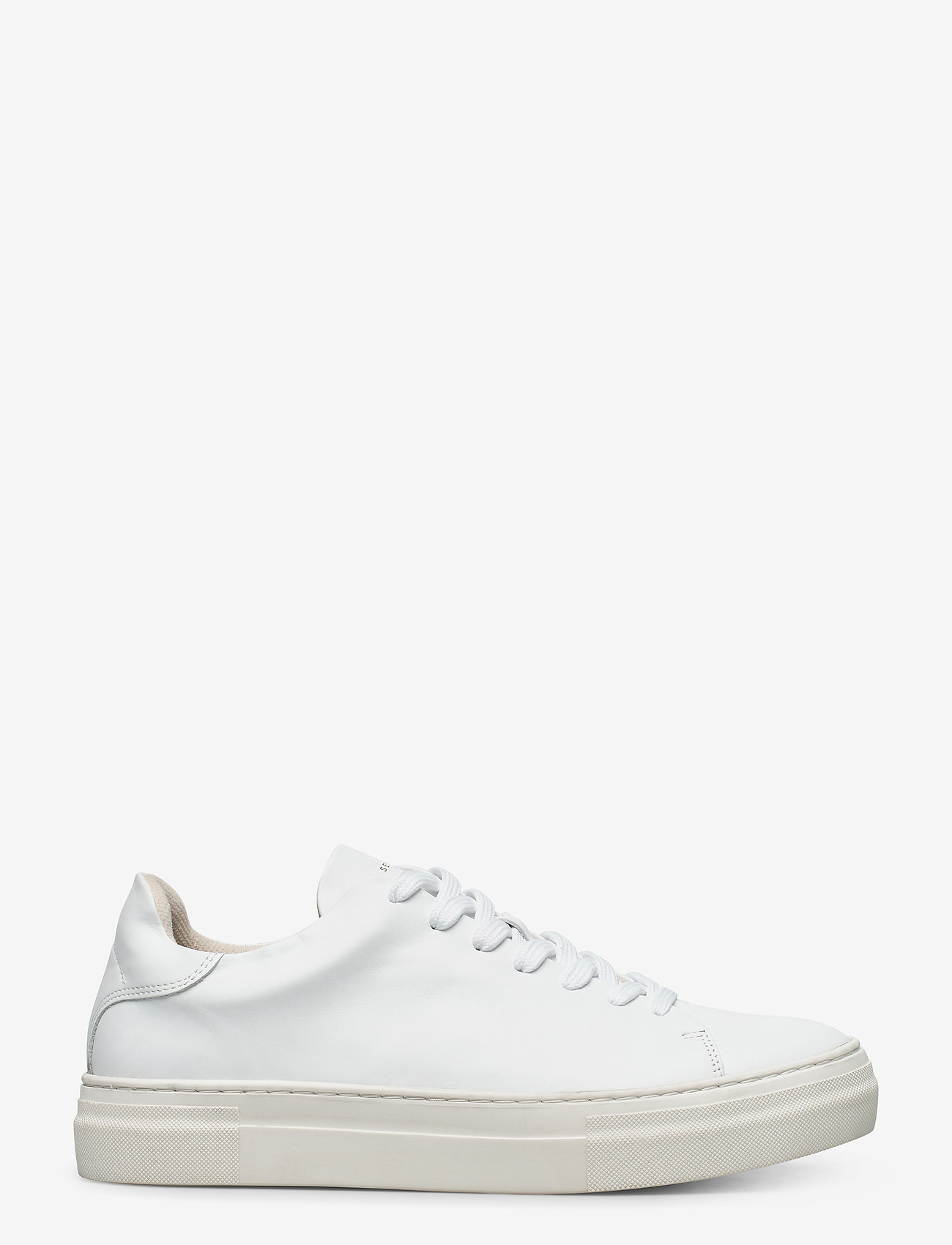 Selected Homme - SLHDAVID CHUNKY CLEAN  LEATHER TRAINER B - laag sneakers - white - 1