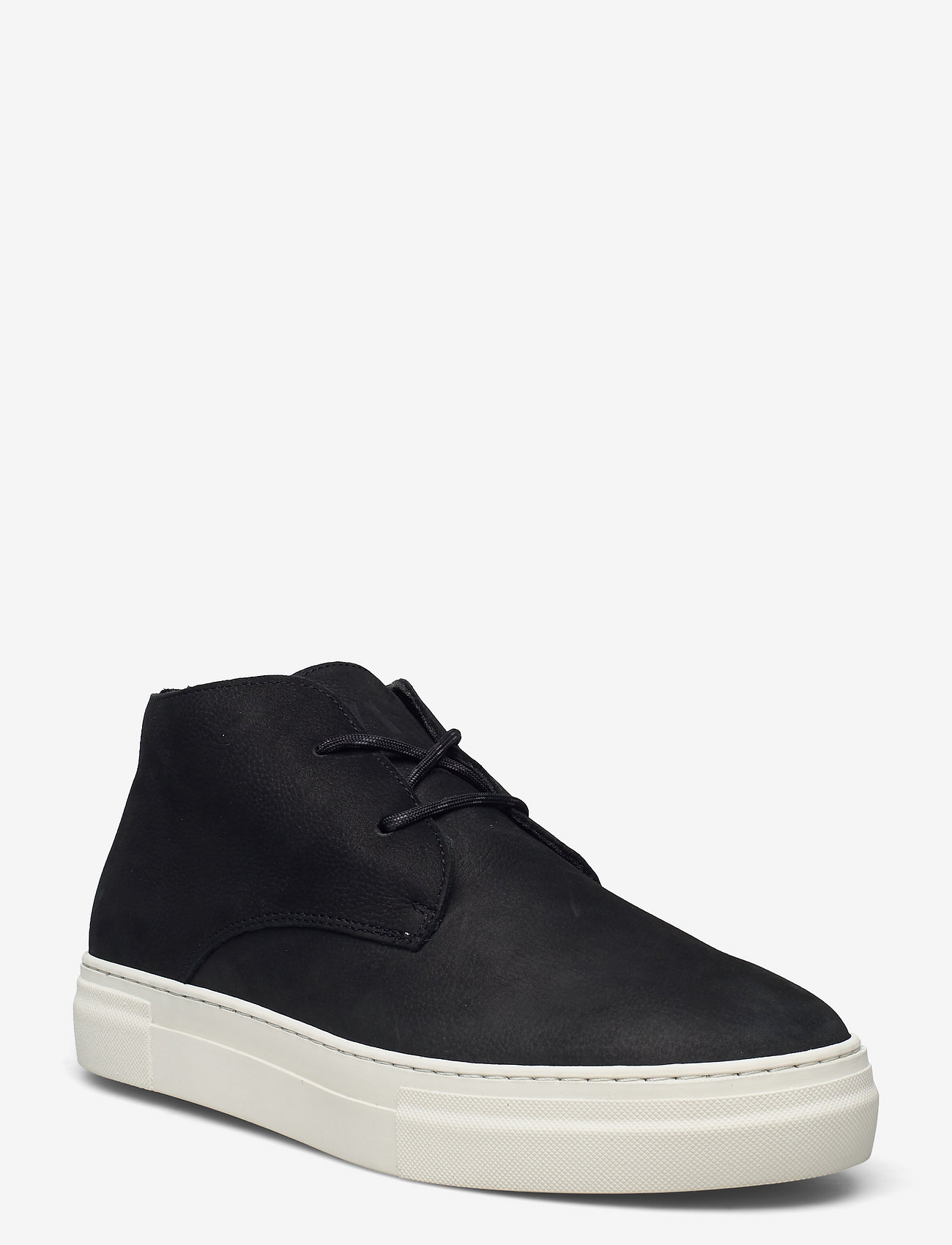 Selected Homme - SLHDAVID CHUNKY NUBUCK CHUKKA W - desert boots - black - 0