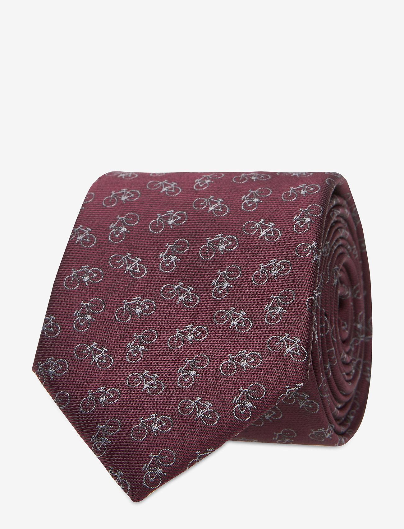 Selected Homme - SLHMORTEN TIE BOX W. BOX B - krawaty - winetasting - 0