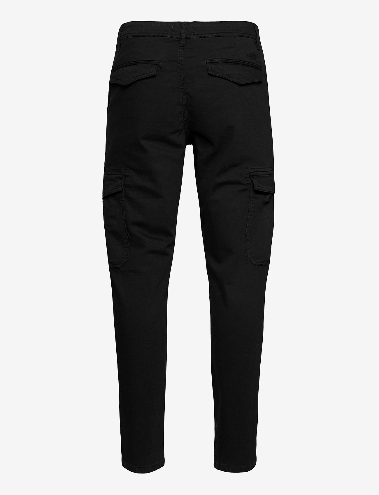 Selected Homme - SLHSLIMCOMFORT-AARON PANTS W - cargobukser - black - 1