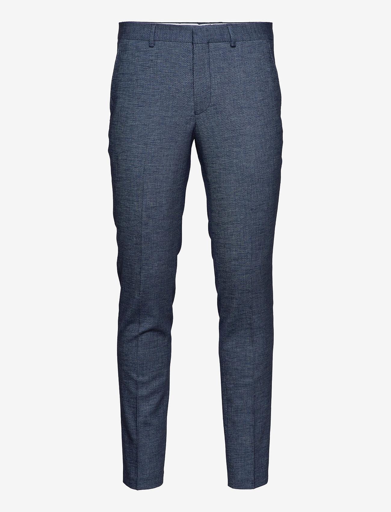 Selected Homme - SLHSLIM-RORYBILL DK BLUE TWILL TRS B - slim jeans - dark blue - 0