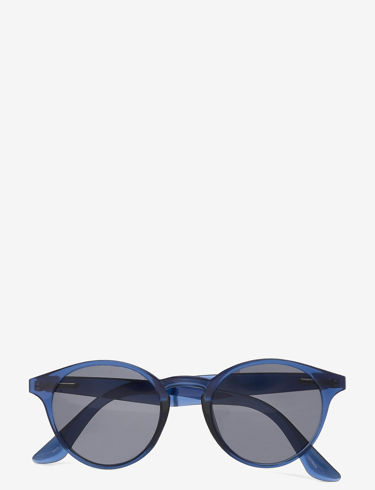 Selected Homme - SLHCARLO SUNGLASSES B - rund ramme - blue sapphire - 0
