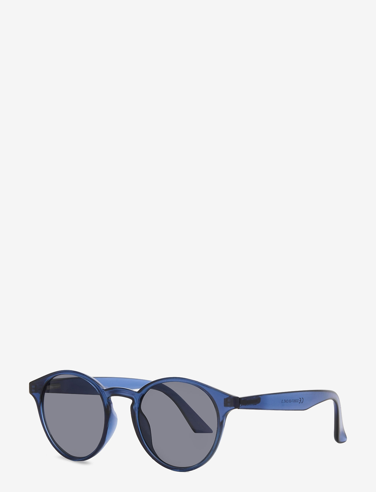 Selected Homme - SLHCARLO SUNGLASSES B - rund ramme - blue sapphire - 1