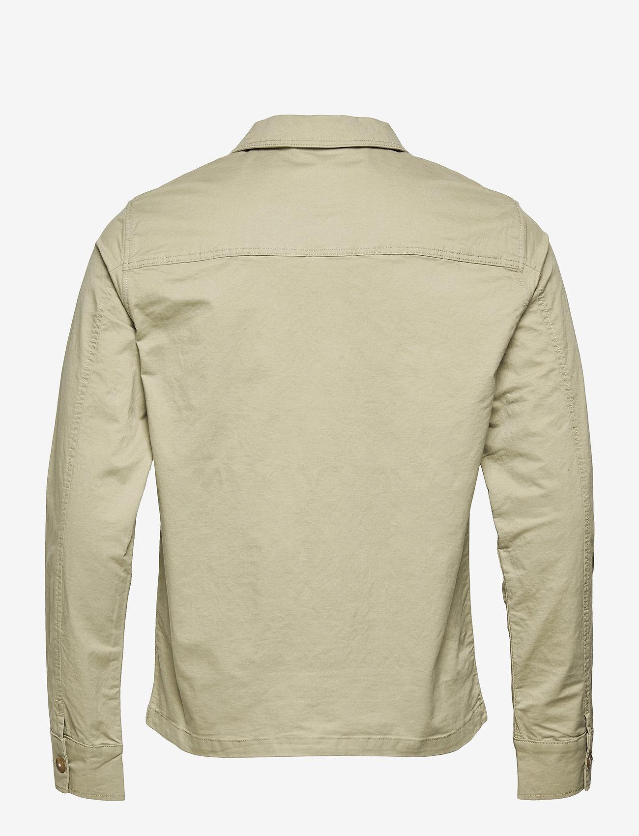 Selected Homme - SLHELLIOT LINEN SHIRT JACKET W - kleding - tea - 1