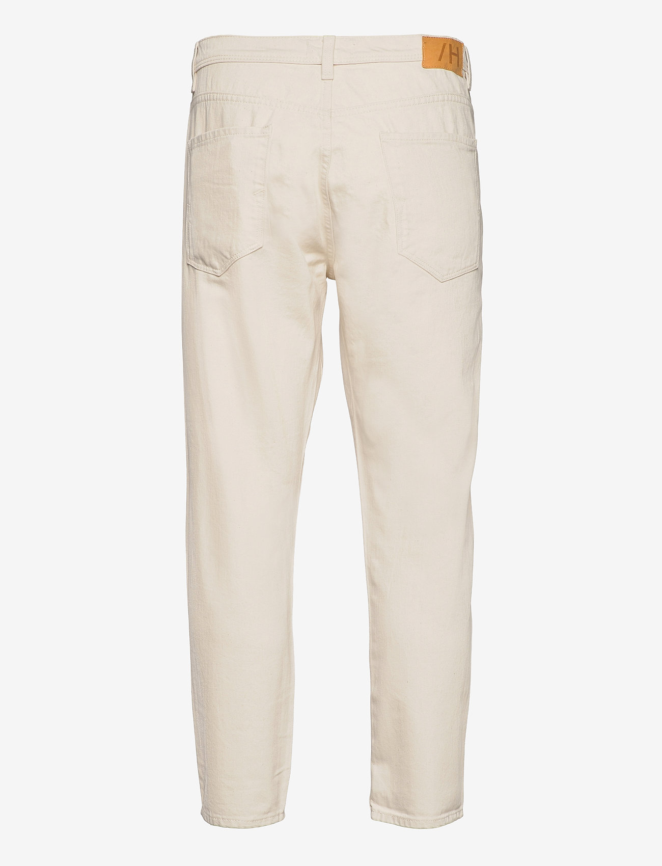 Selected Homme - SLHRELAXCROP-ALDO 4056 ECRU DNM JEANS U - relaxed jeans - egret - 1