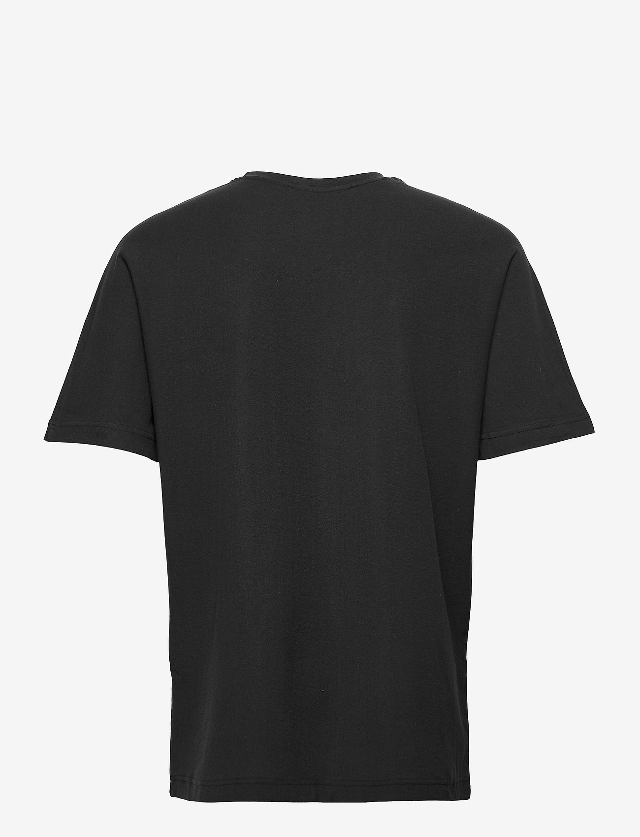 Selected Homme - SLHRELAXALBION SS O-NECK TEE G - t-shirts basiques - black - 1