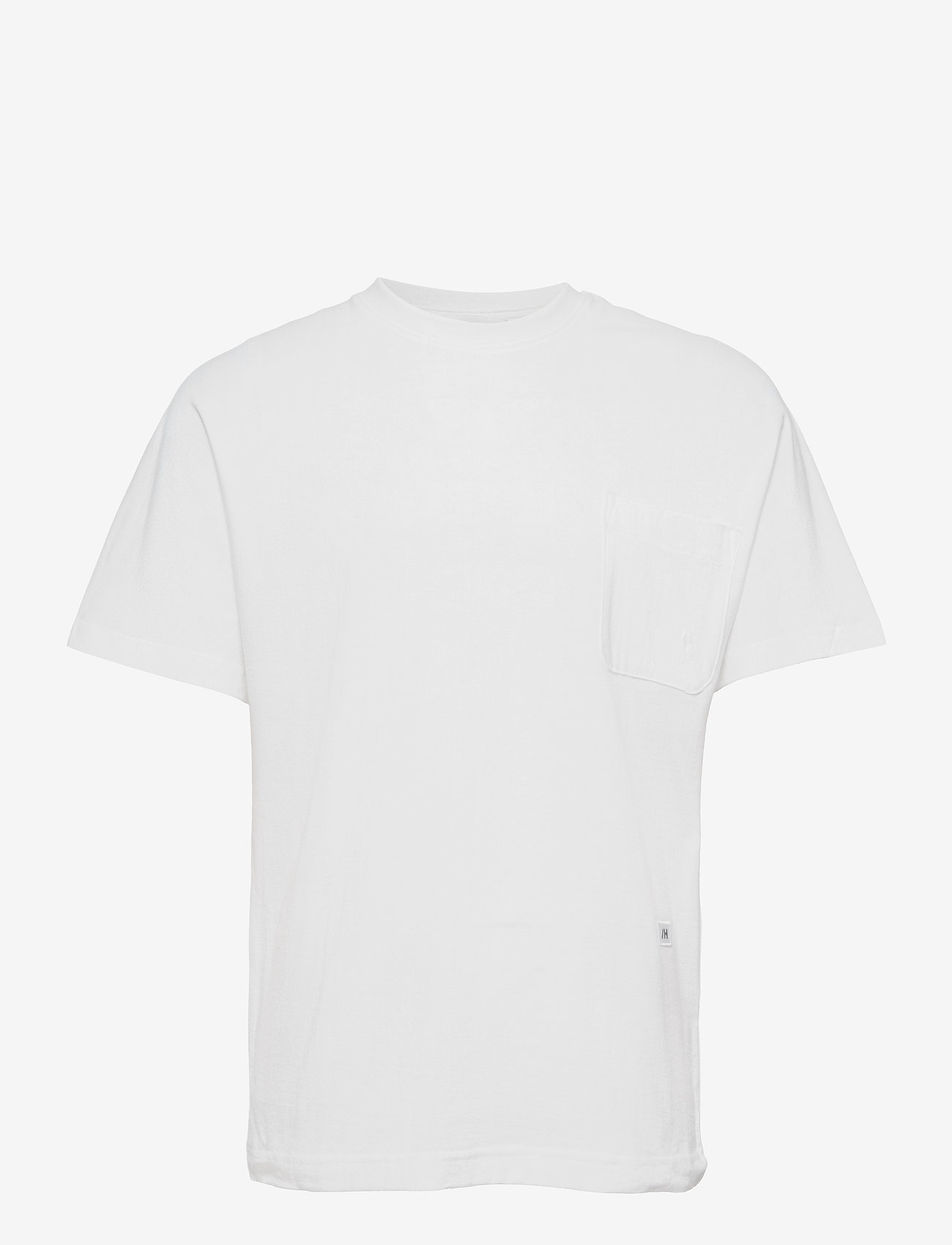 Selected Homme - SLHRELAXALBION SS O-NECK TEE G - podstawowe koszulki - bright white - 0