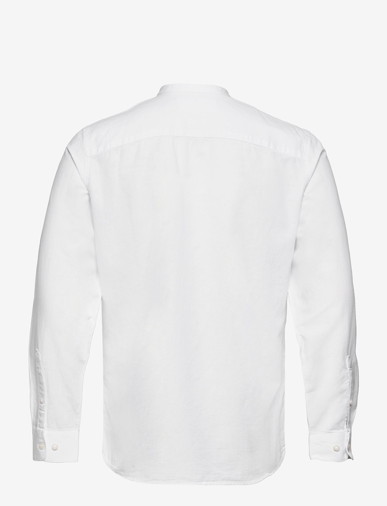 Selected Homme - SLHSLIMNEW-LINEN SHIRT LS CHINA W - chemises à carreaux - white - 1