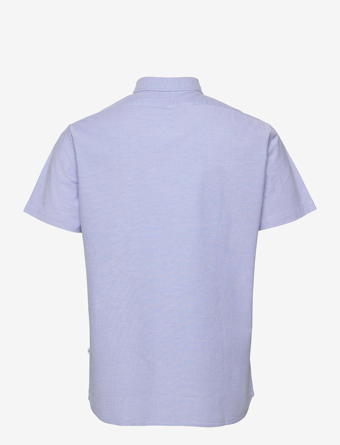 Selected Homme - SLHREGRICK-OX FLEX SHIRT SS S - chemises à carreaux - light blue - 1