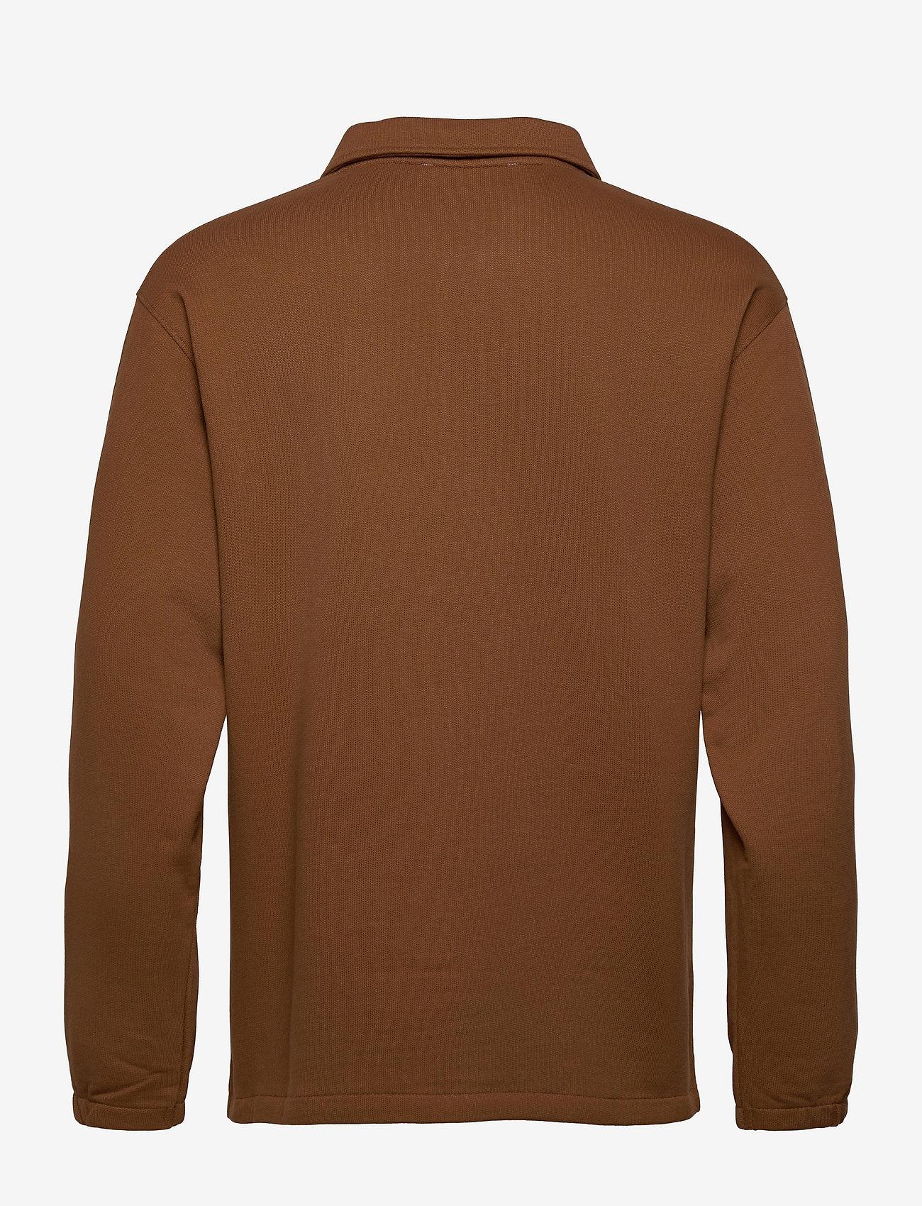 Selected Homme - SLHRELAXREID HALF ZIP SWEAT W - truien - monks robe - 1