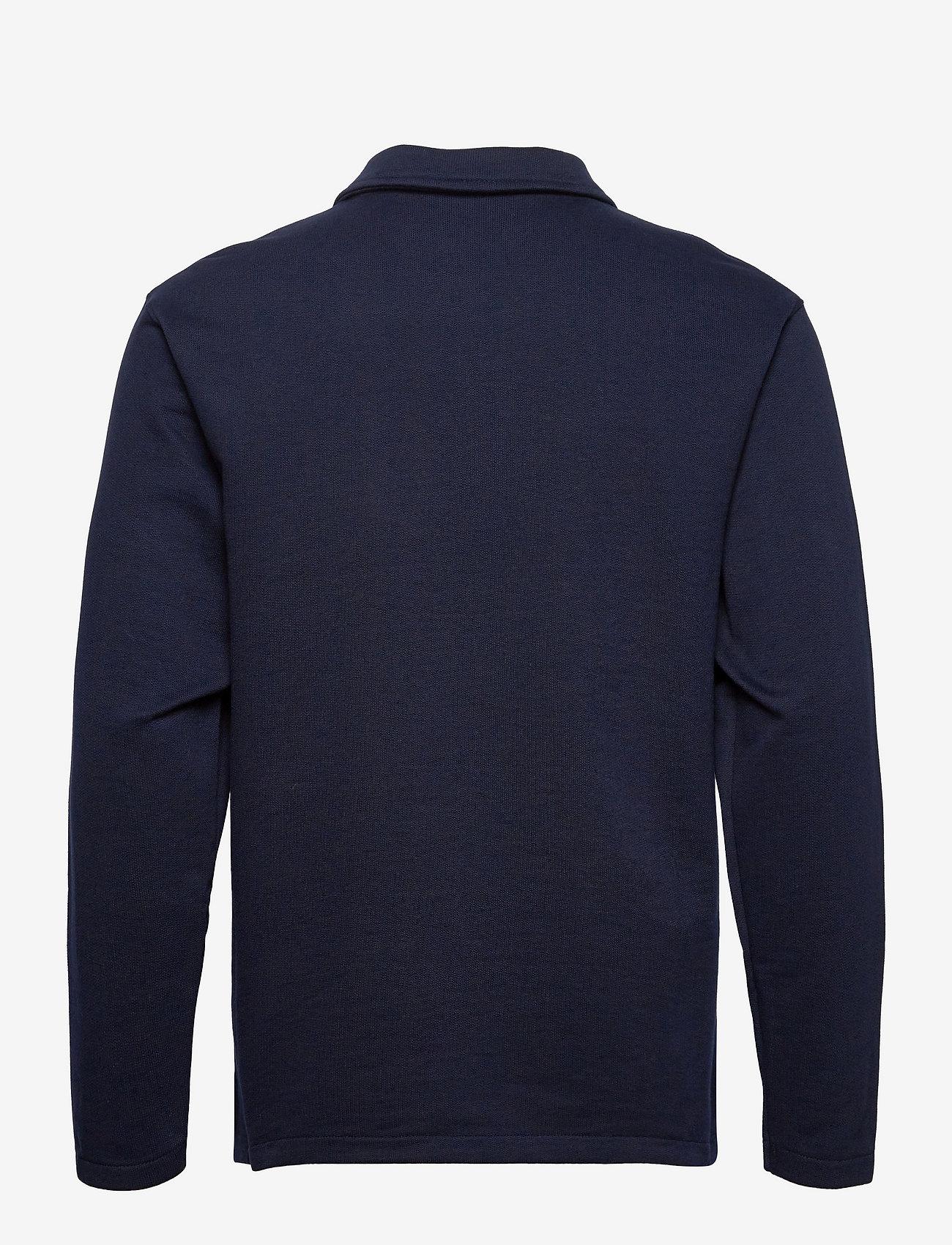 Selected Homme - SLHRELAXREID HALF ZIP SWEAT W - truien - navy blazer - 1
