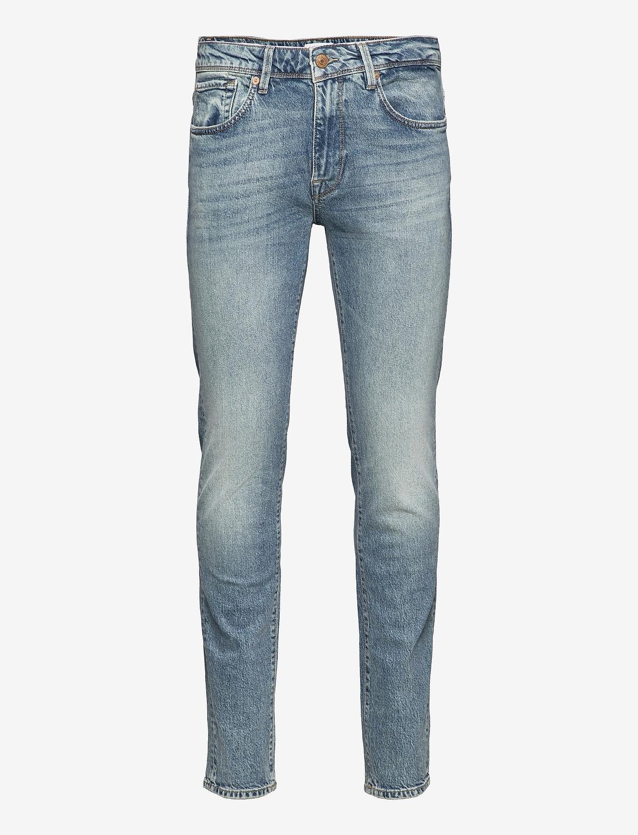 Selected Homme - SLHSLIM-LEON 6290 L.BLUE ST JEANS U - slim jeans - light blue denim - 0