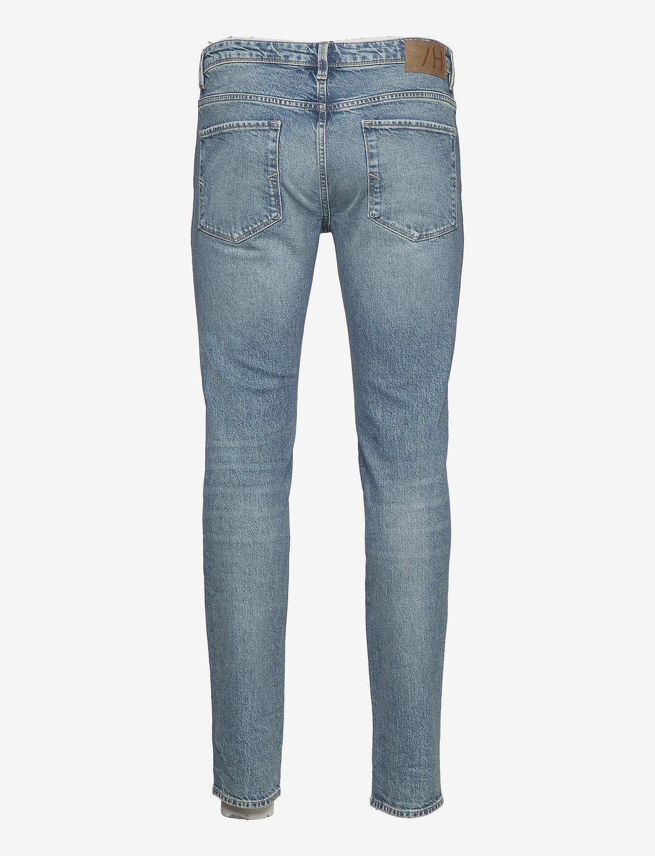 Selected Homme - SLHSLIM-LEON 6290 L.BLUE ST JEANS U - slim jeans - light blue denim - 1