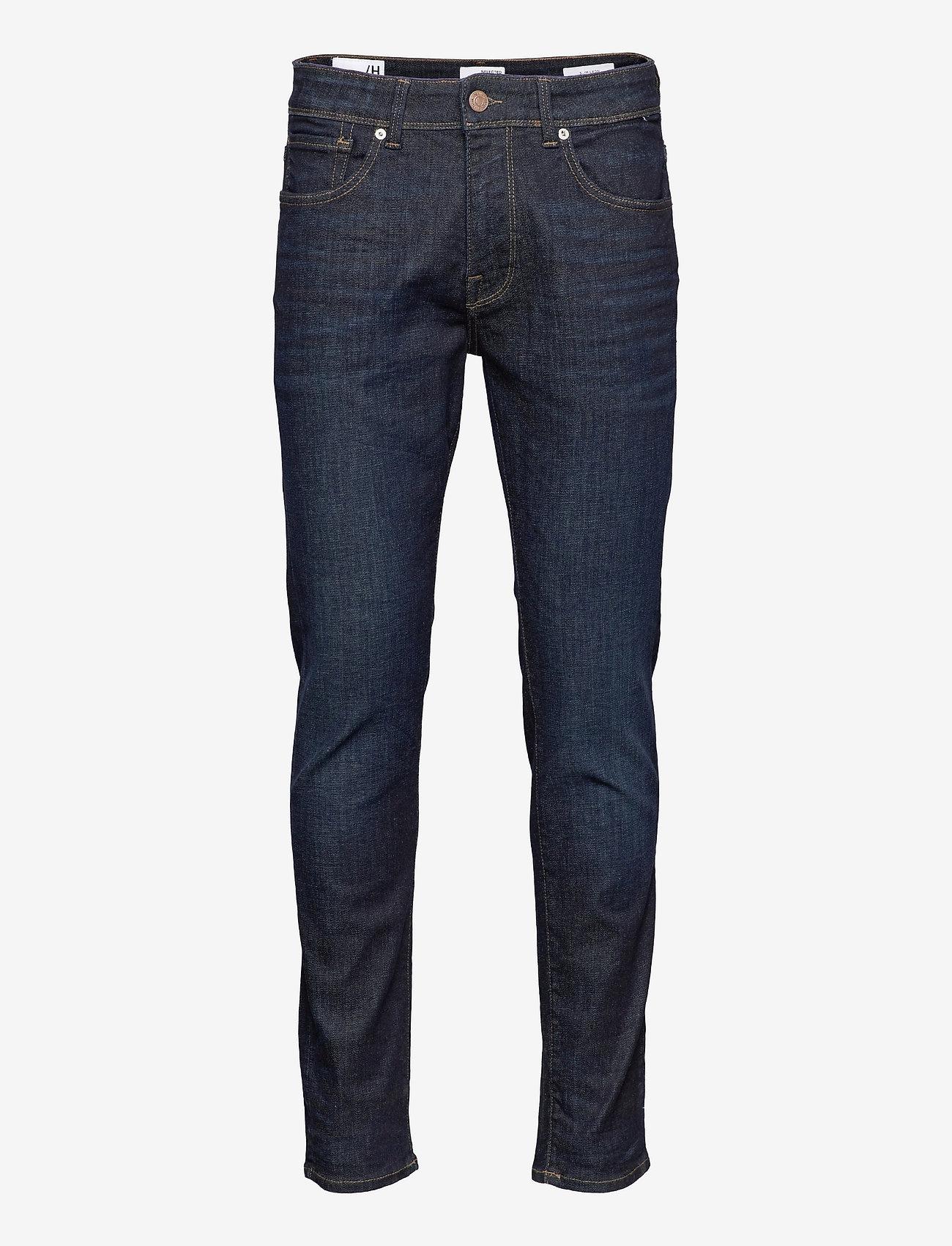 Selected Homme - SLHSLIM-LEON 6291 D.B SUPERST JNS U - slim jeans - dark blue denim - 0