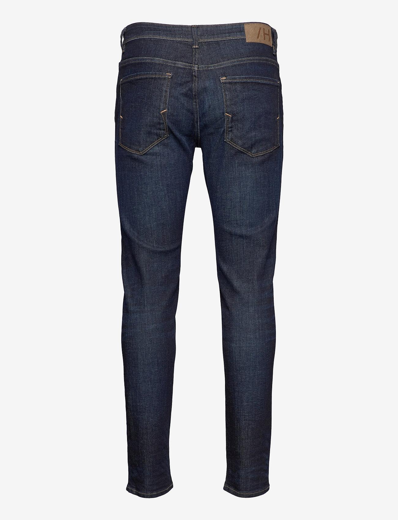 Selected Homme - SLHSLIM-LEON 6291 D.B SUPERST JNS U - slim jeans - dark blue denim - 1